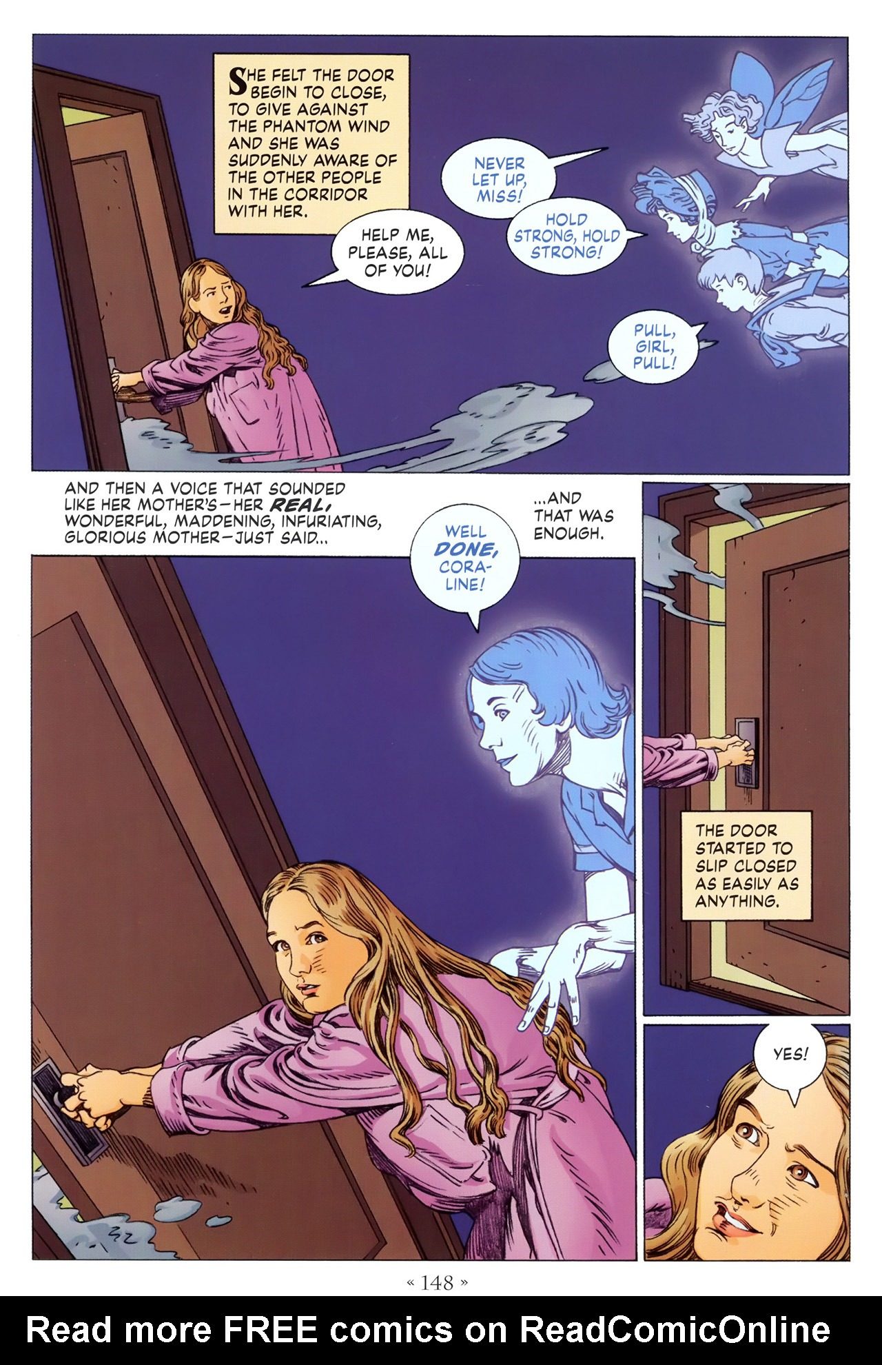 Read online Coraline comic -  Issue #1 - 154