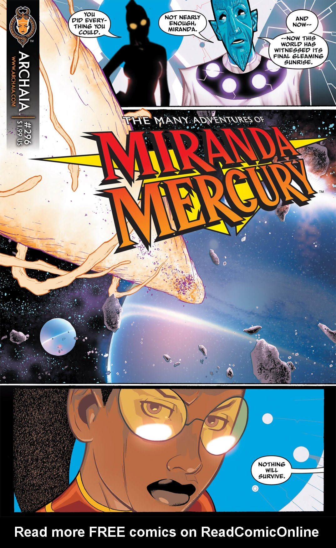 Read online The Many Adventures of Miranda Mercury: Time Runs Out comic -  Issue # TPB - 40