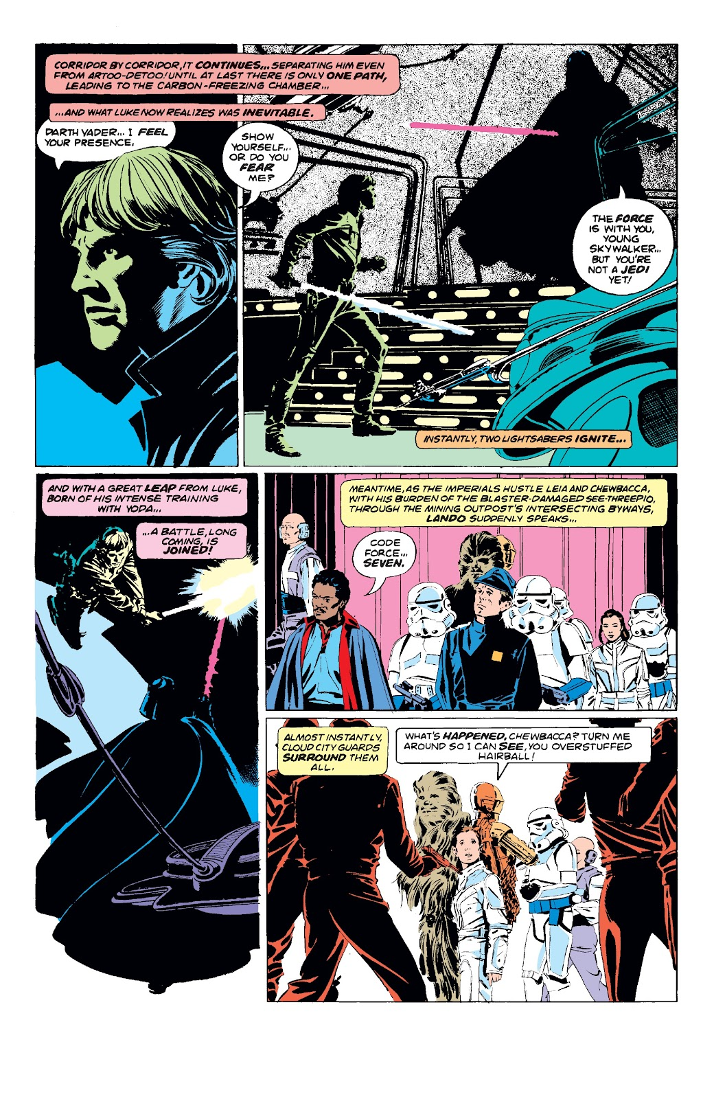 Read online Star Wars Legends: The Original Marvel Years - Epic Collection comic -  Issue # TPB 3 (Part 2) - 1