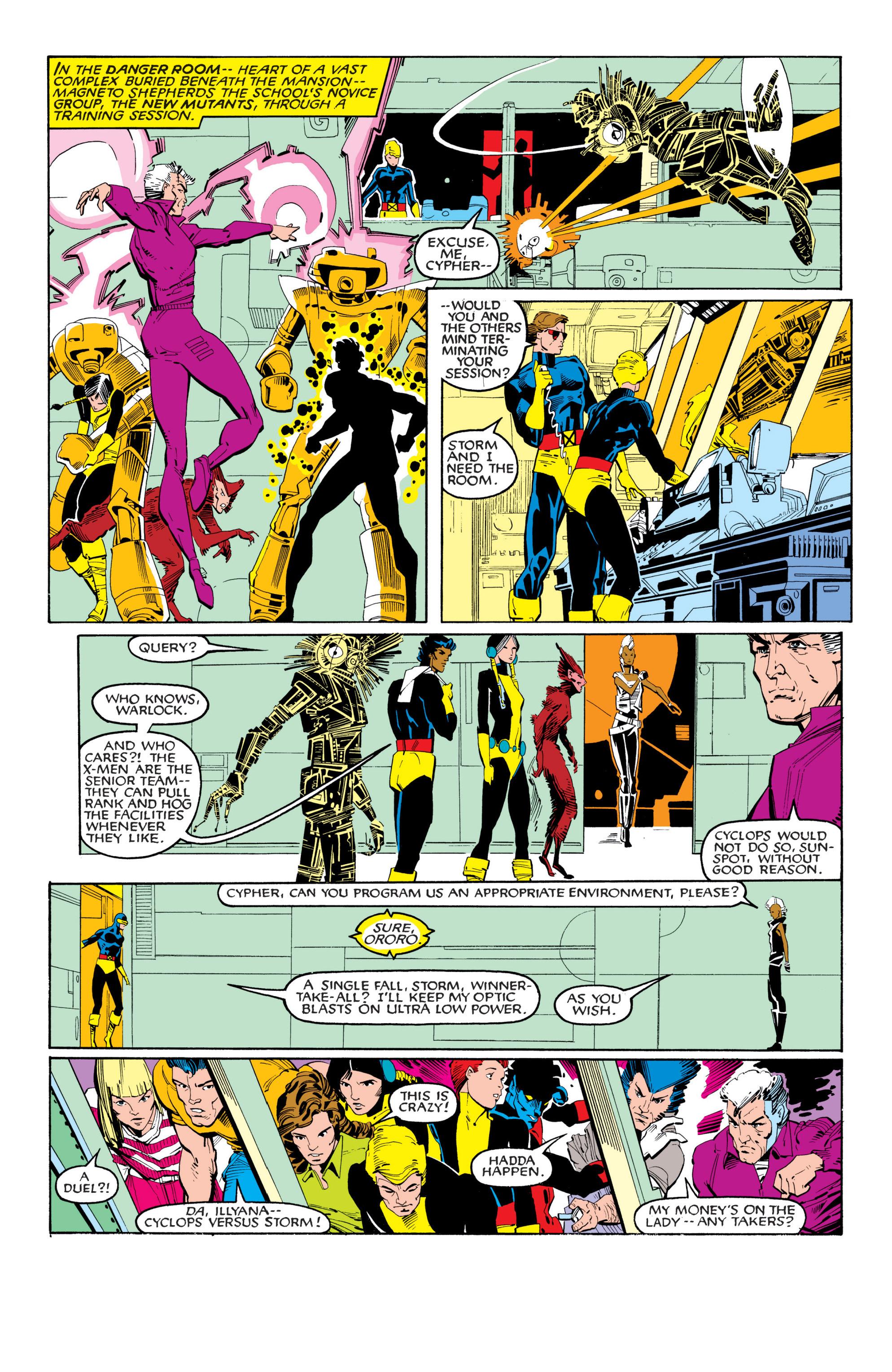 Read online Uncanny X-Men (1963) comic -  Issue #201 - 16