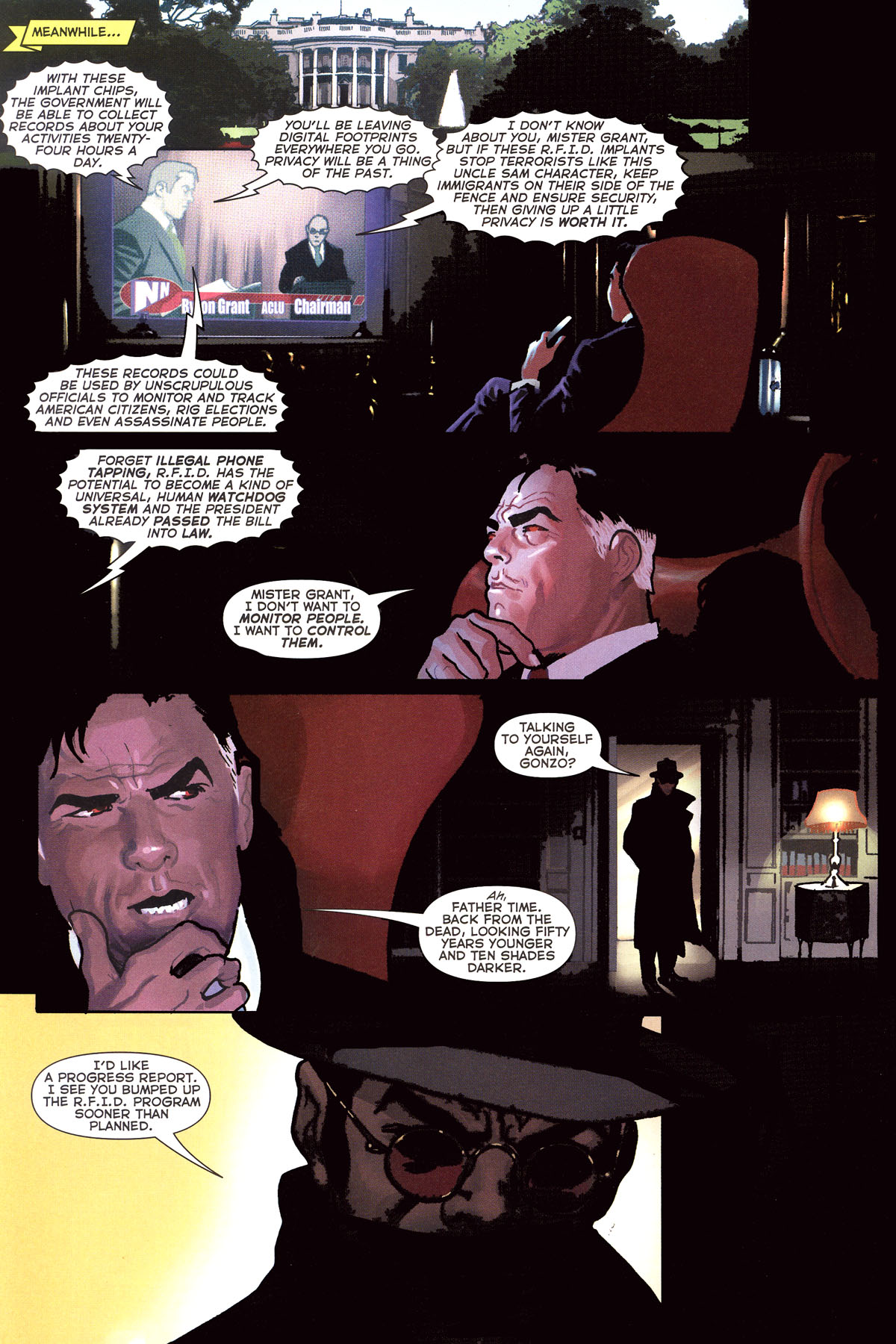Read online Uncle Sam and the Freedom Fighters (2006) comic -  Issue #7 - 15