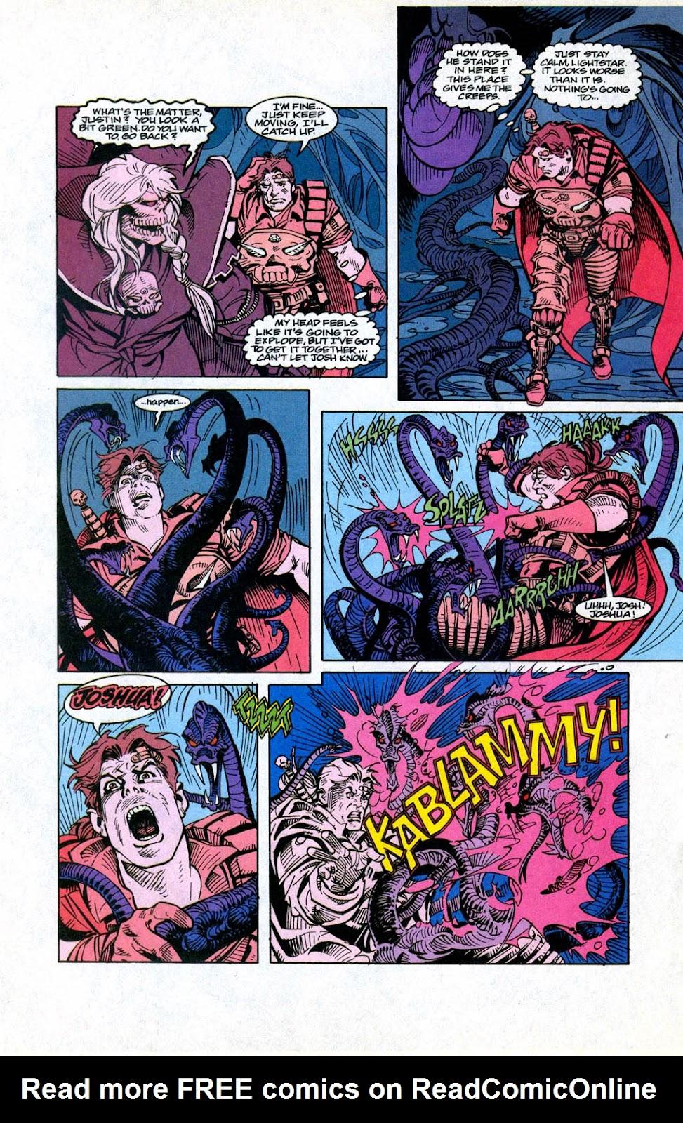 Skeleton Warriors Issue #3 #3 - English 16