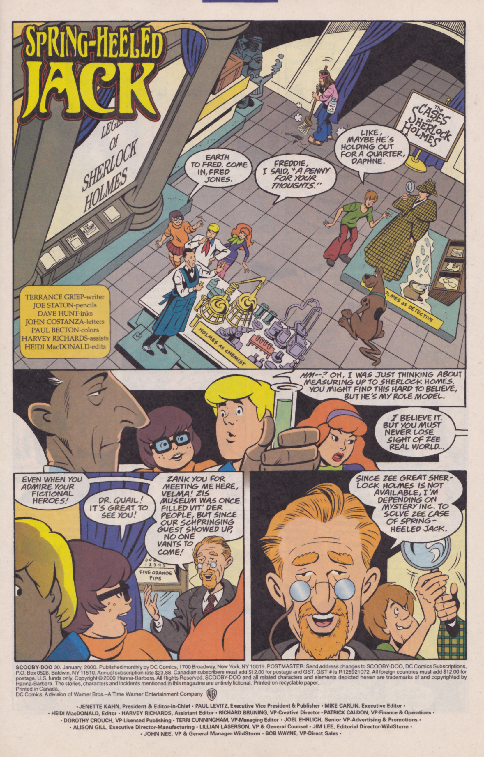 Read online Scooby-Doo (1997) comic -  Issue #30 - 2