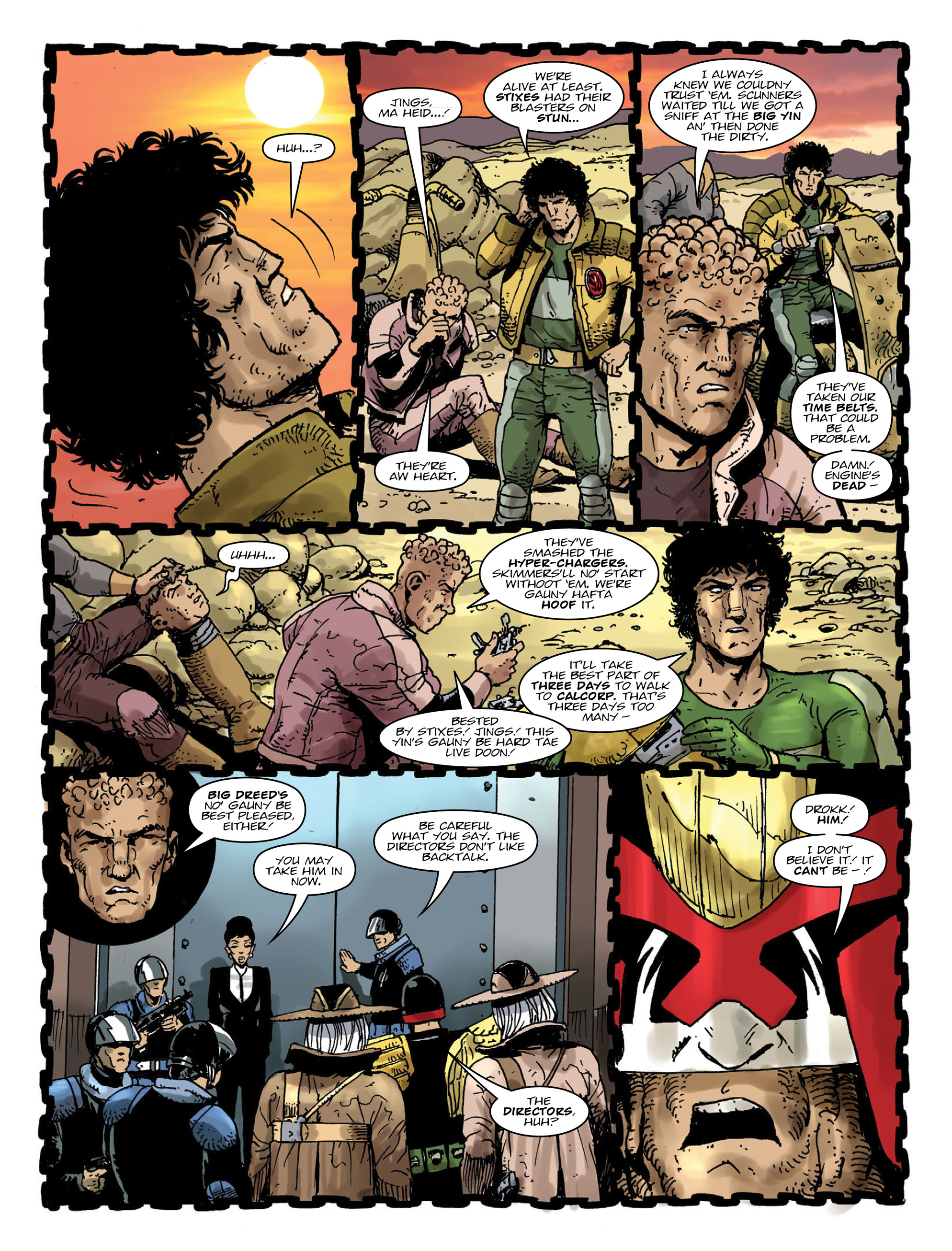Read online 2000 AD comic -  Issue #2000 - 9