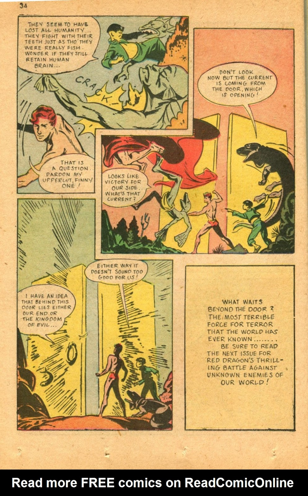 Read online Super-Magician Comics comic -  Issue #46 - 34