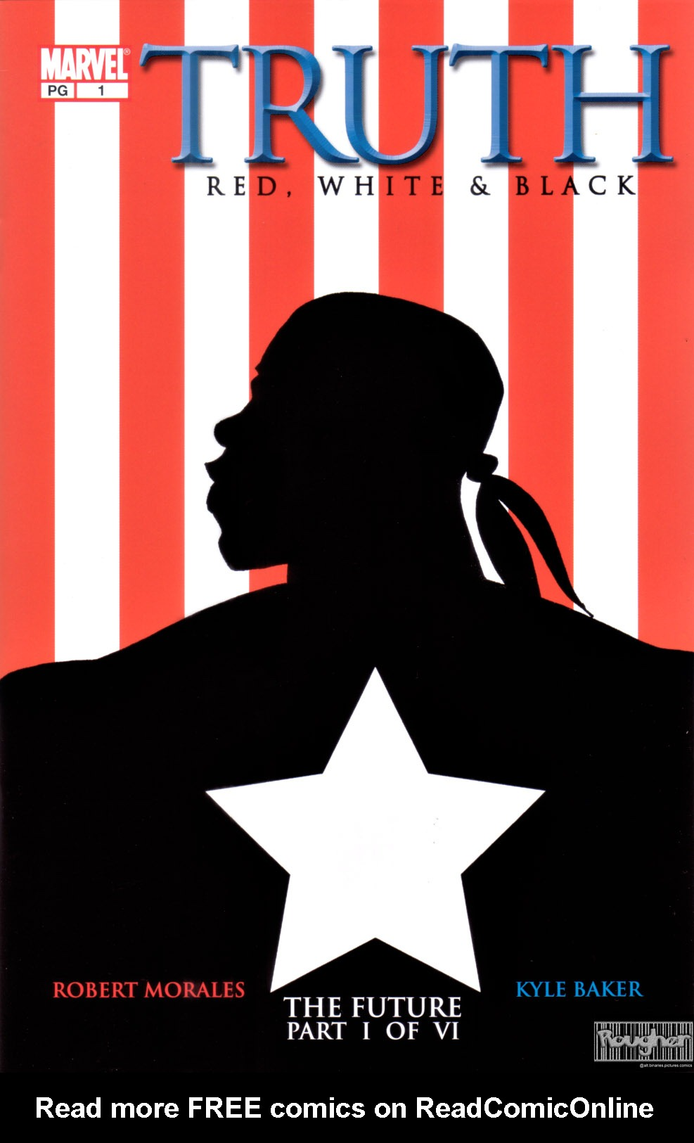 Read online Truth: Red, White & Black comic -  Issue #1 - 1