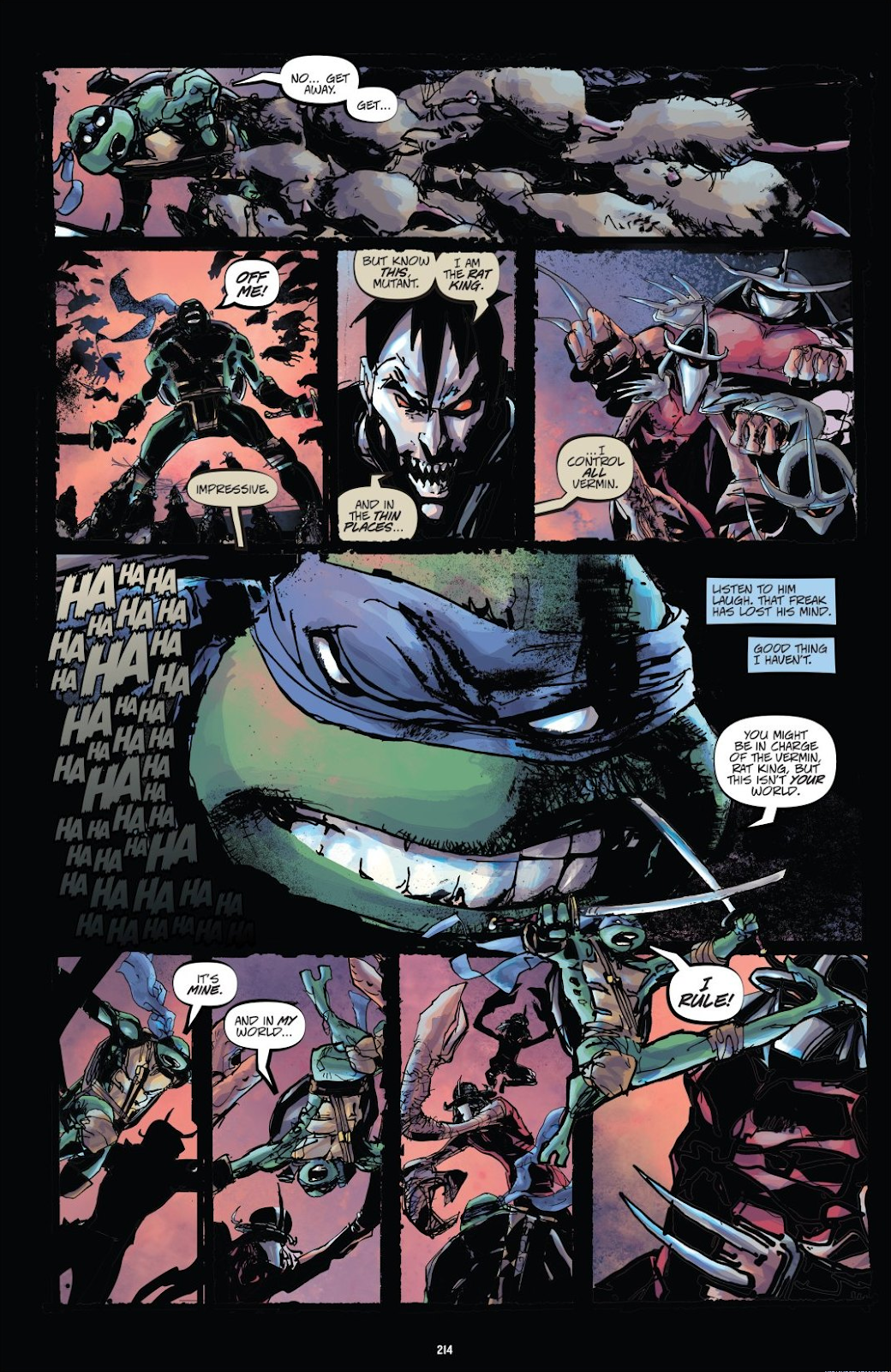 Read online Teenage Mutant Ninja Turtles: The IDW Collection comic -  Issue # TPB 8 (Part 3) - 13