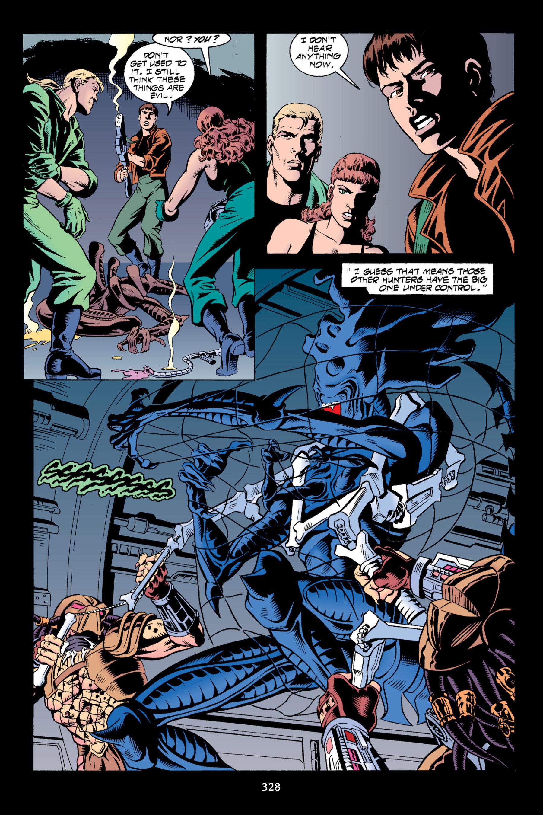 Read online Aliens vs. Predator Omnibus comic -  Issue # _TPB 2 Part 3 - 103
