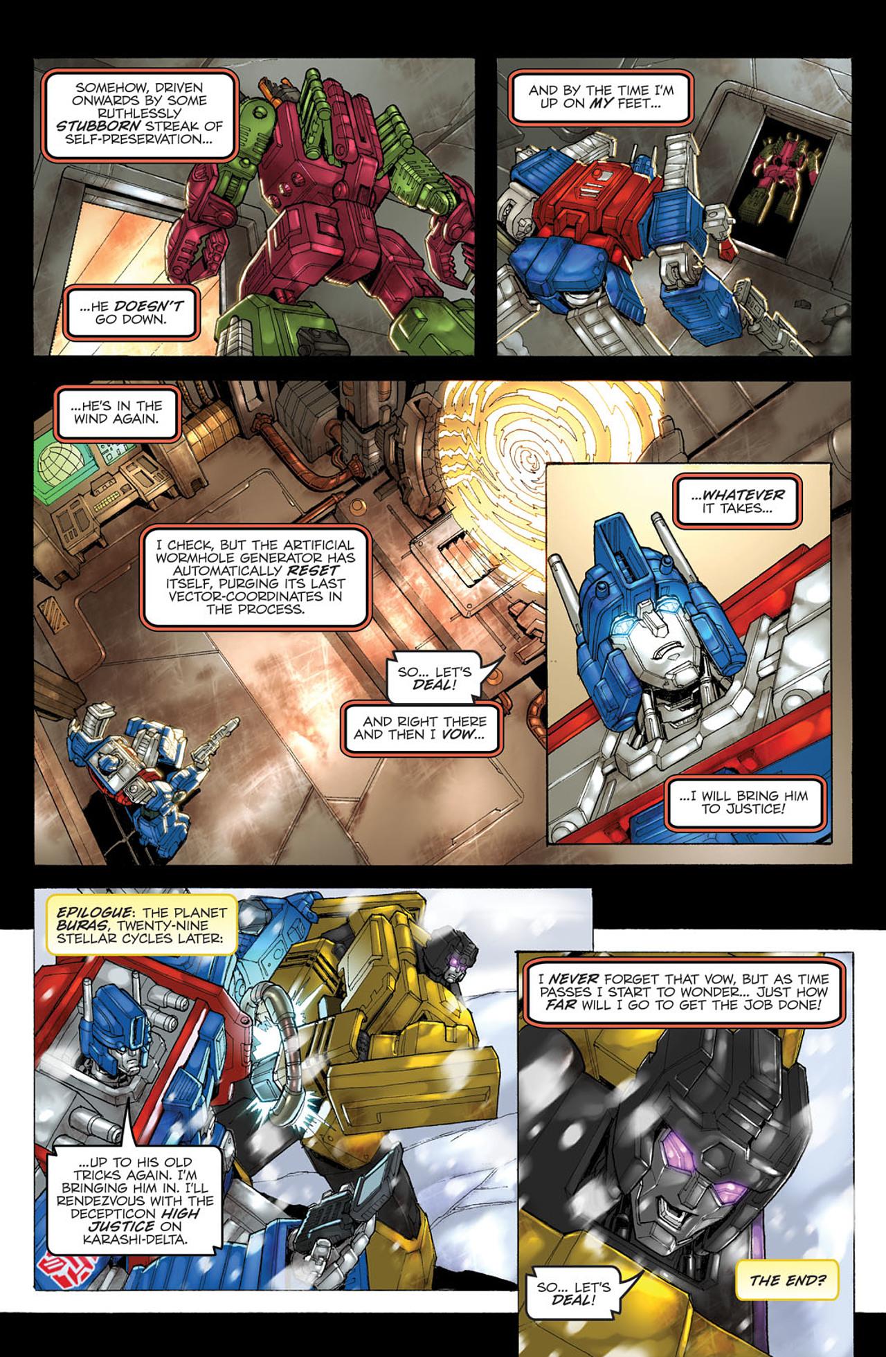 Read online Transformers Spotlight: Ultra Magnus comic -  Issue # Full - 24