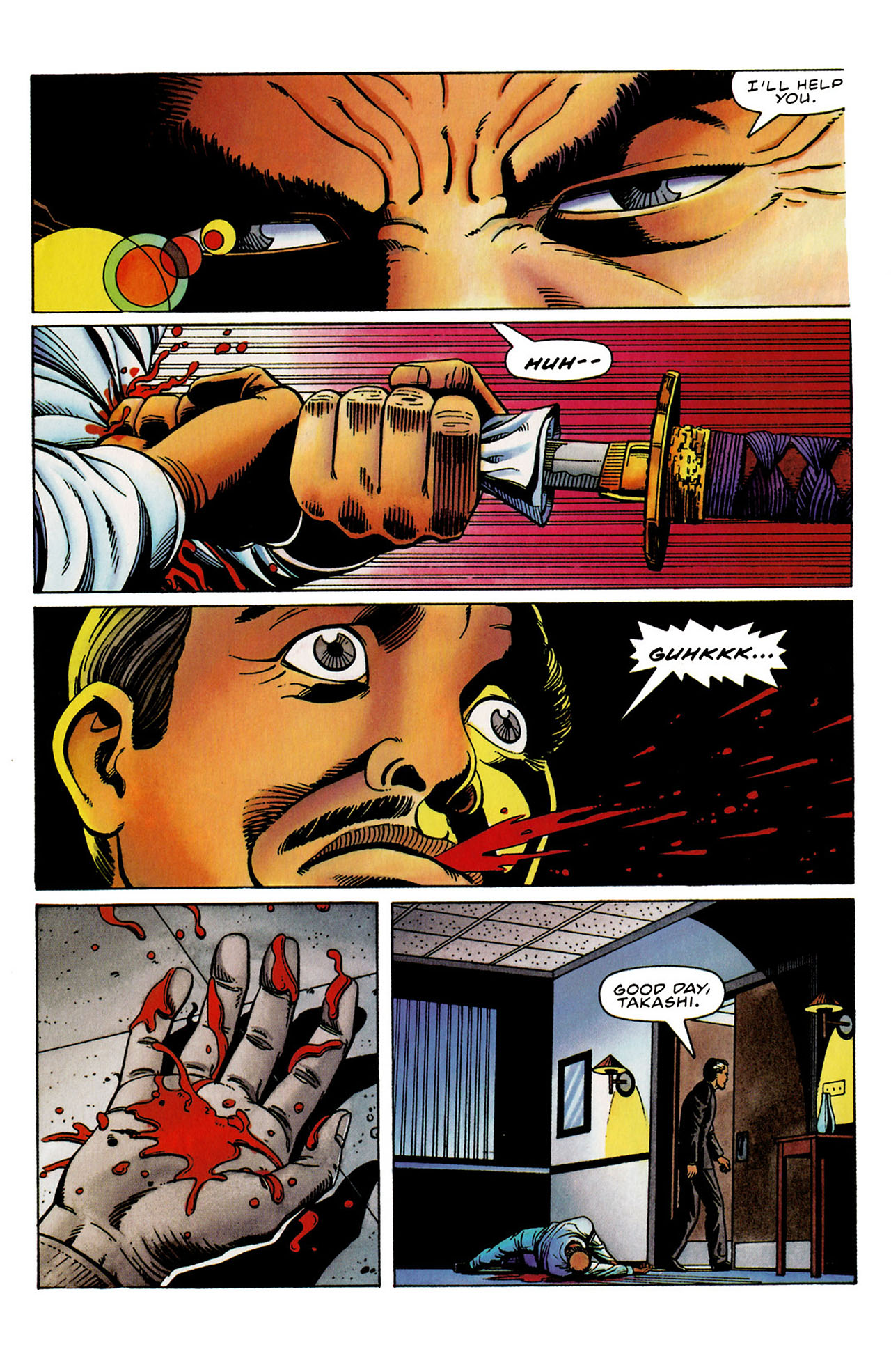 Read online Harbinger (1992) comic -  Issue #31 - 20