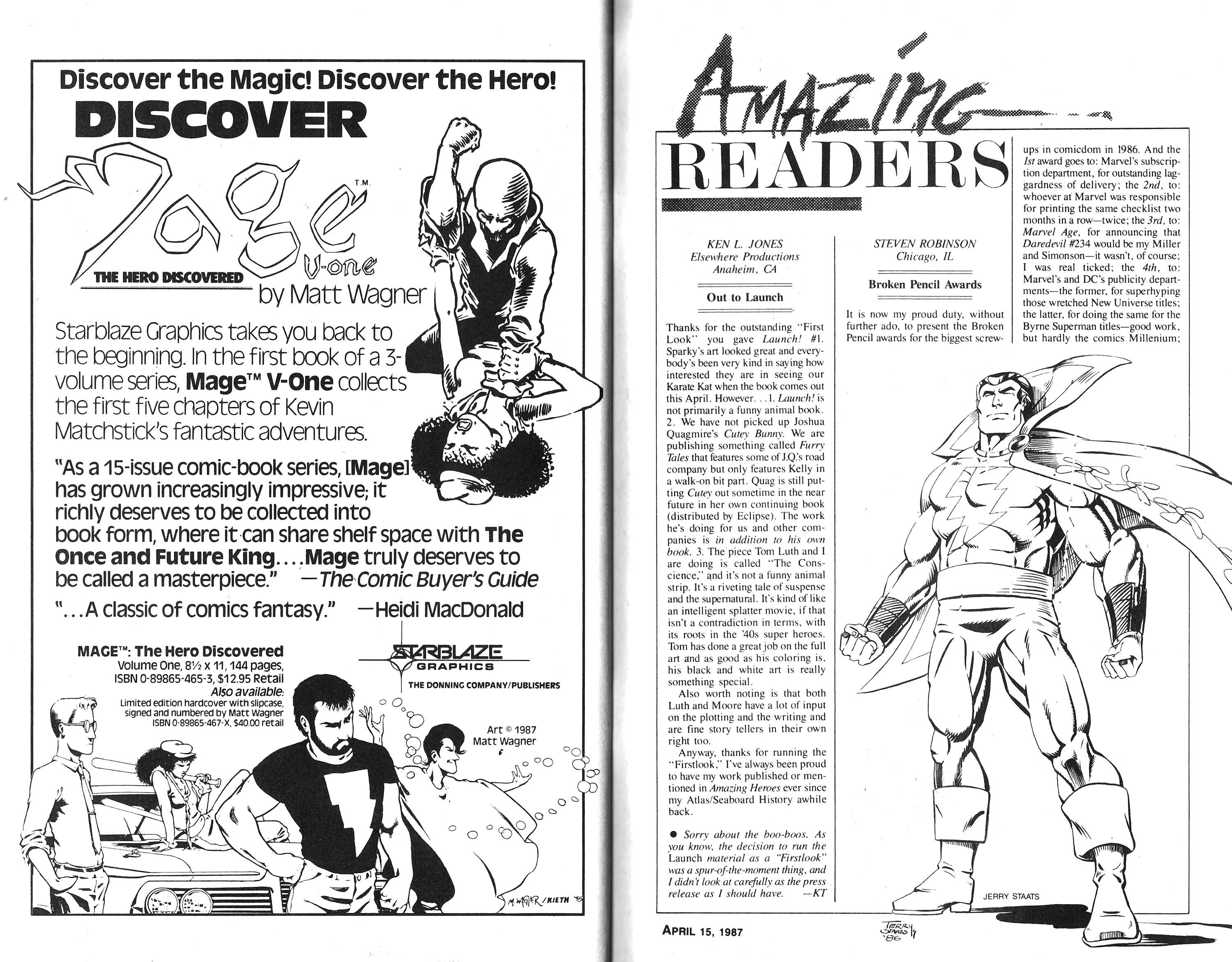 Read online Amazing Heroes comic -  Issue #115 - 45