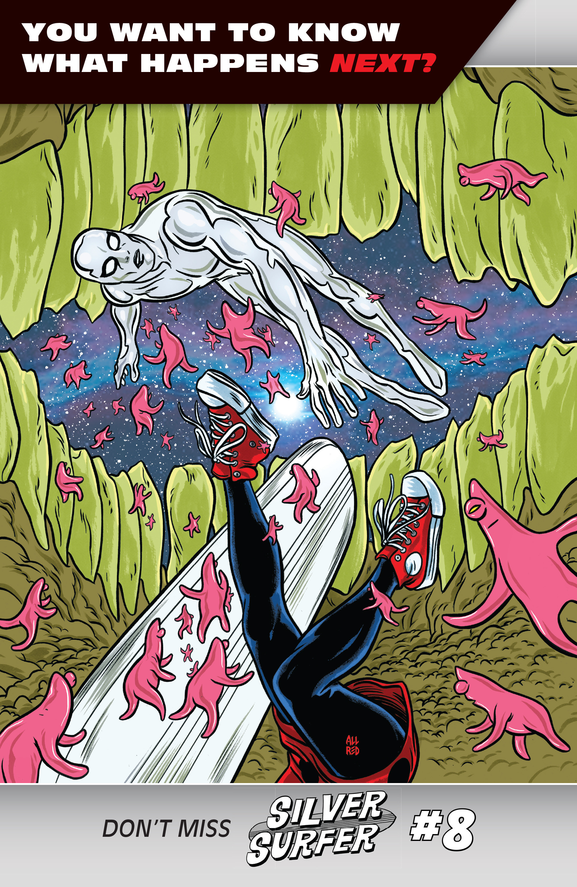 Read online Silver Surfer (2016) comic -  Issue #7 - 21