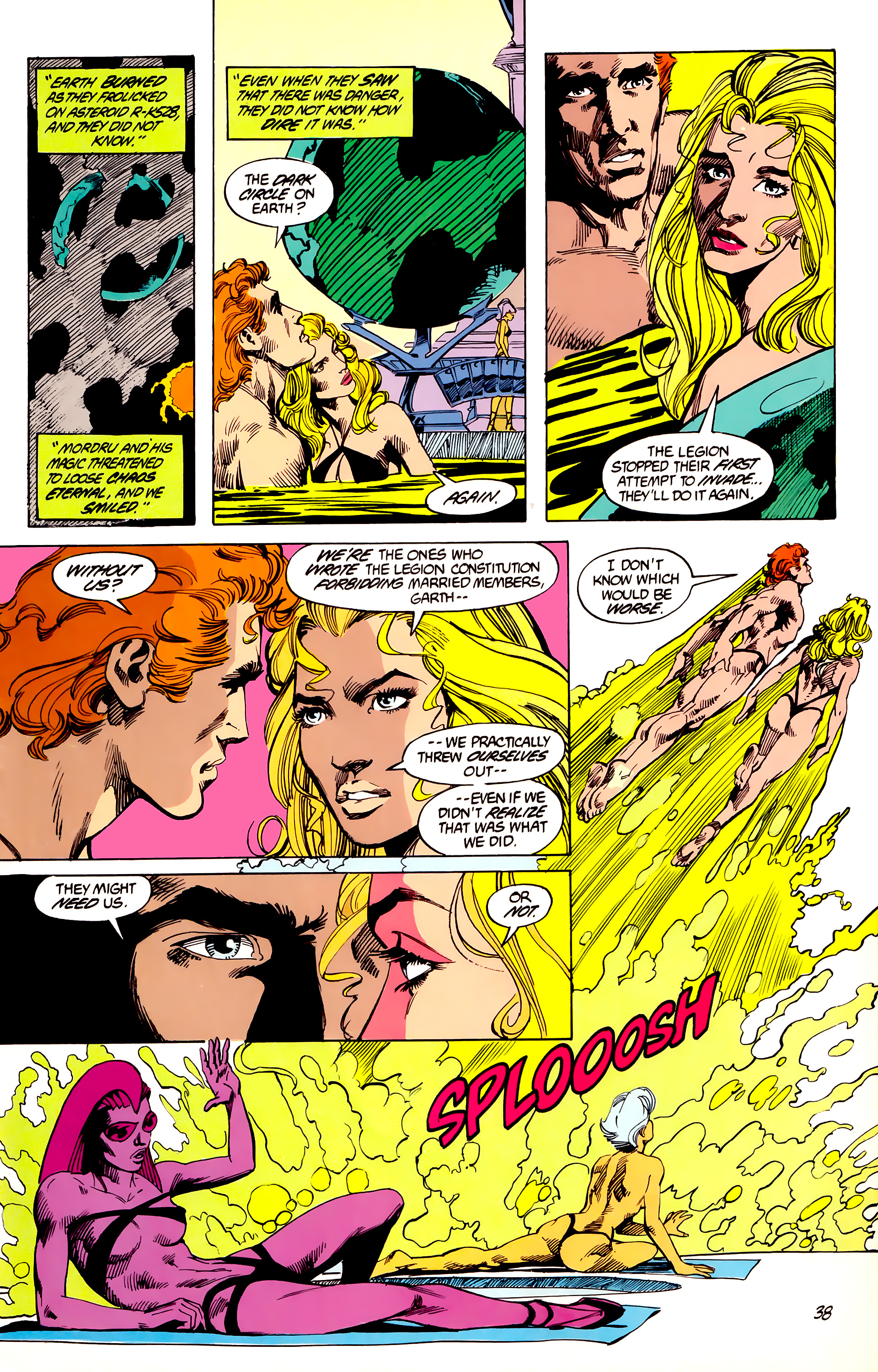 Legion of Super-Heroes (1984) 45 Page 38
