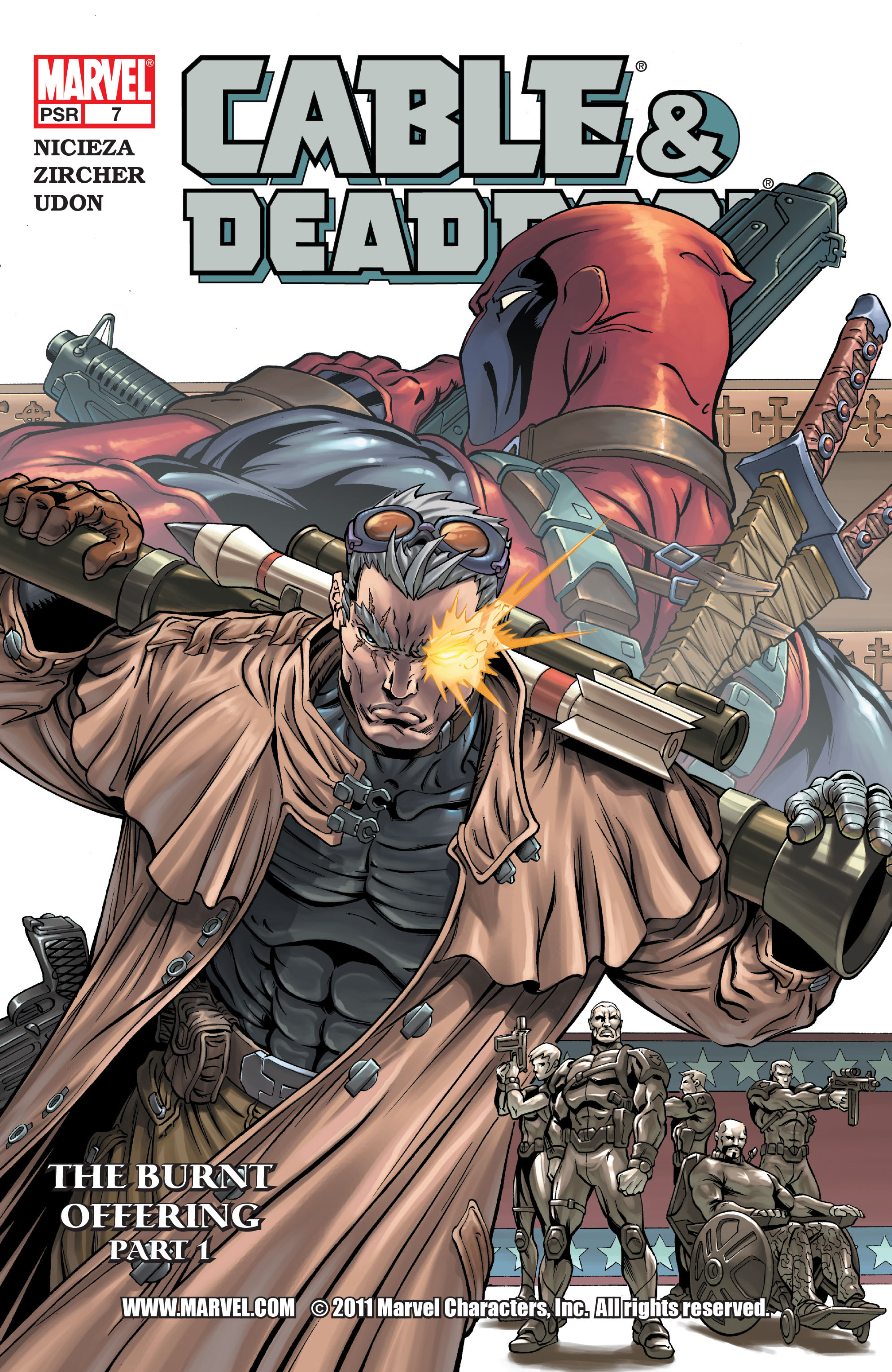 Cable and Deadpool 7 Page 1
