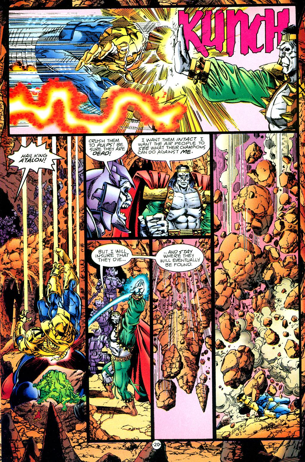 Read online UltraForce (1994) comic -  Issue #1 - 21