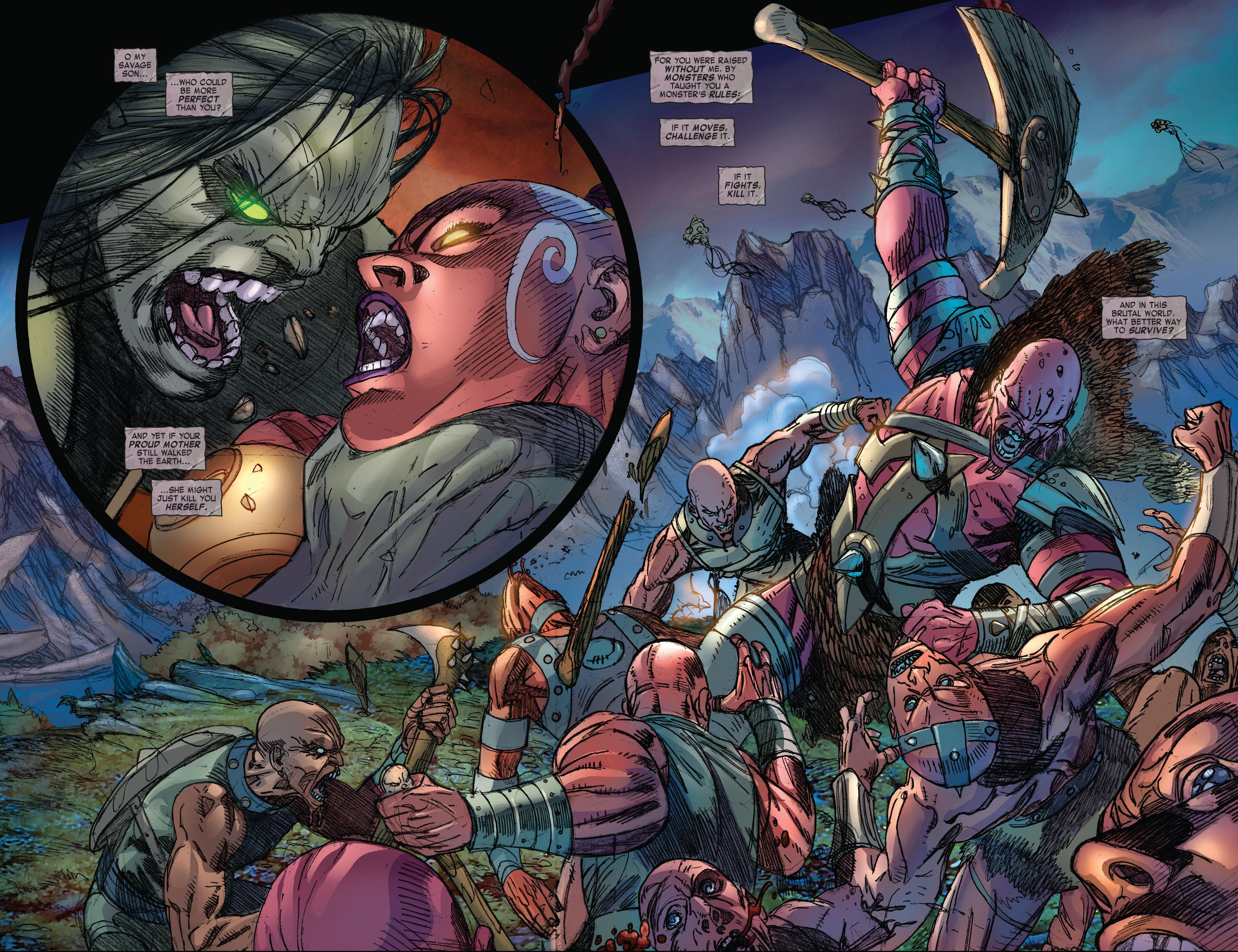 Read online Skaar: Son of Hulk comic -  Issue #3 - 9