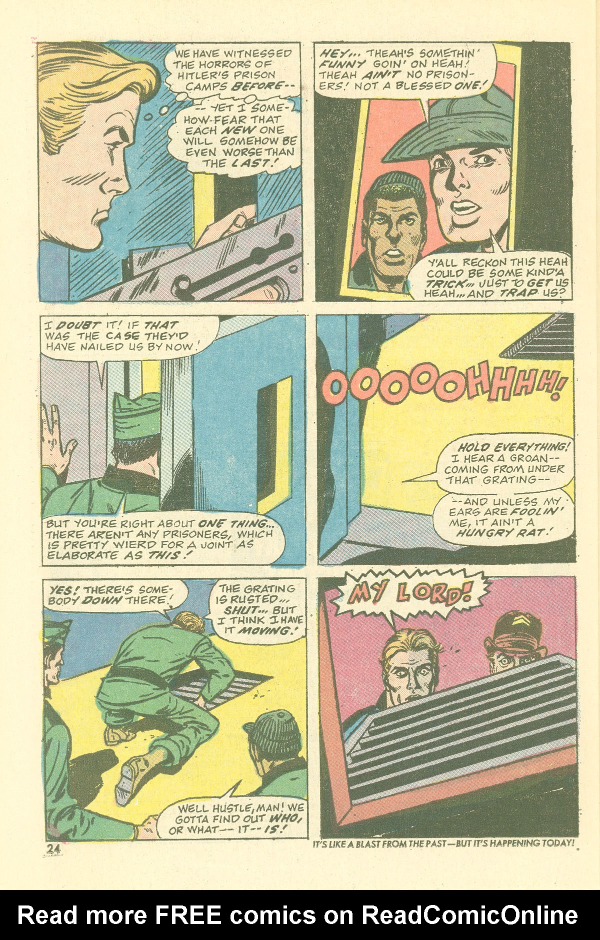 Read online Sgt. Fury comic -  Issue #115 - 26