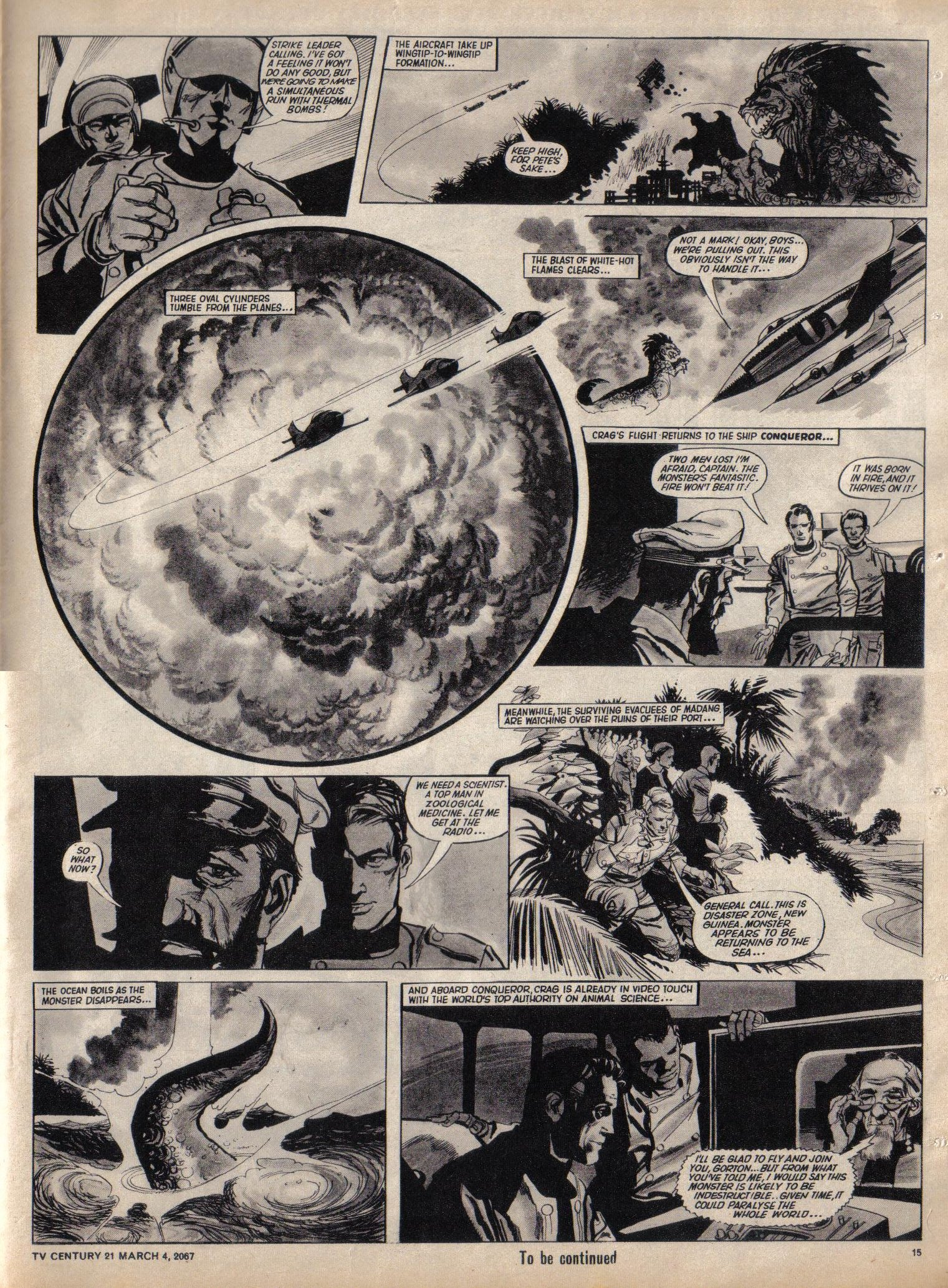 Read online TV Century 21 (TV 21) comic -  Issue #111 - 14