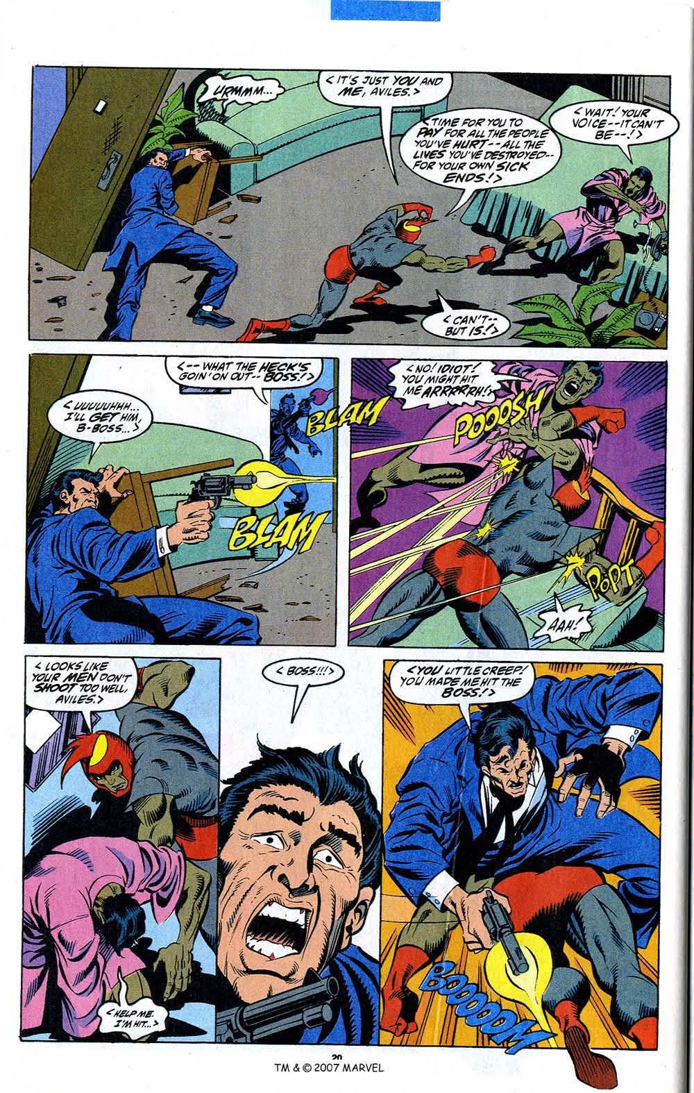 Read online Captain America (1968) comic -  Issue # _Annual 12 - 22