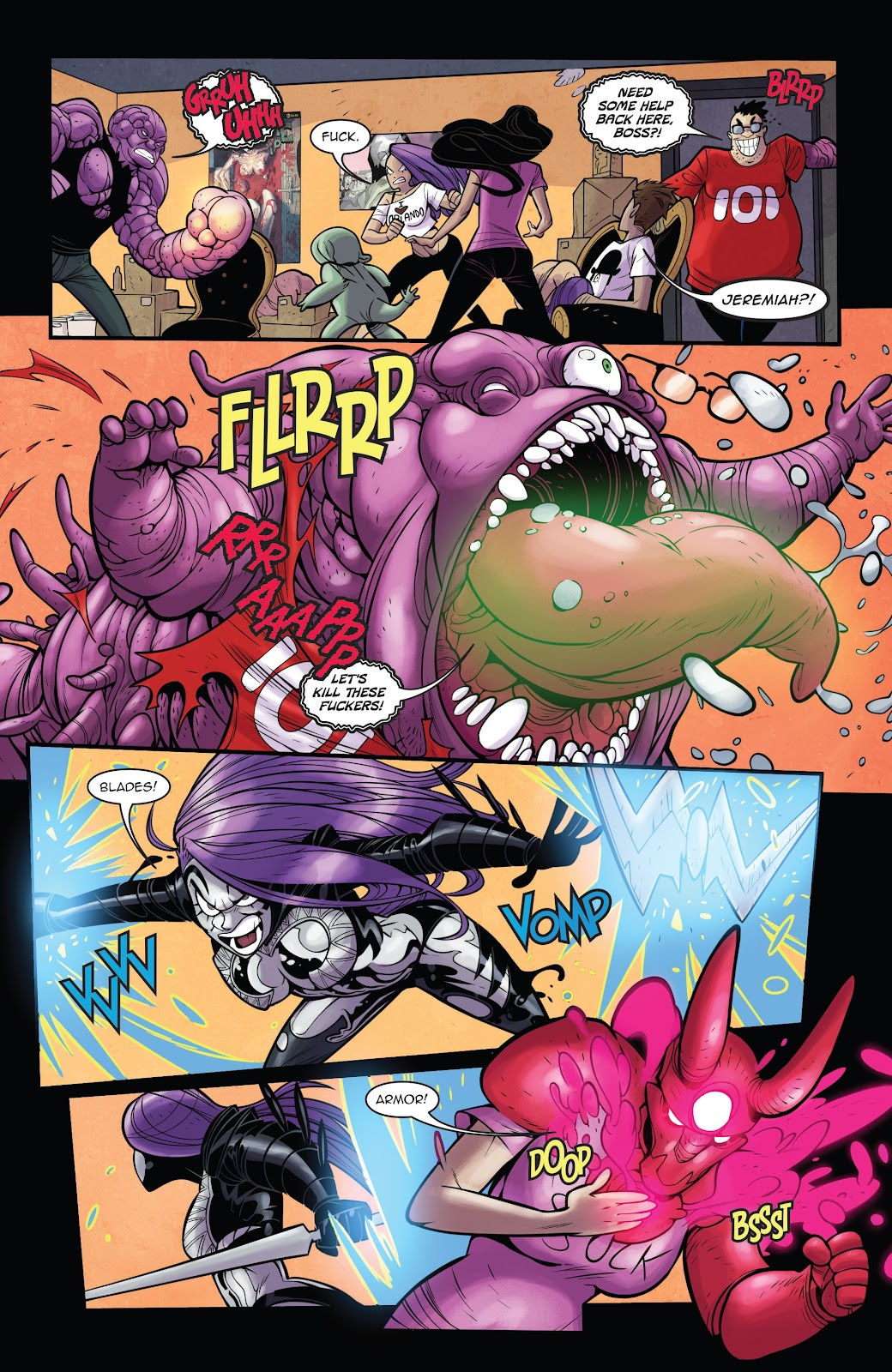 Read online Vampblade Season 3 comic -  Issue #11 - 15