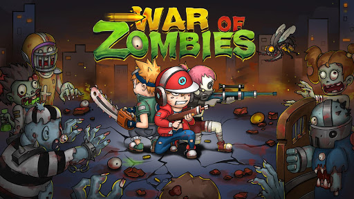 Game War of Zombies Heroes Hack Full Kim Cương