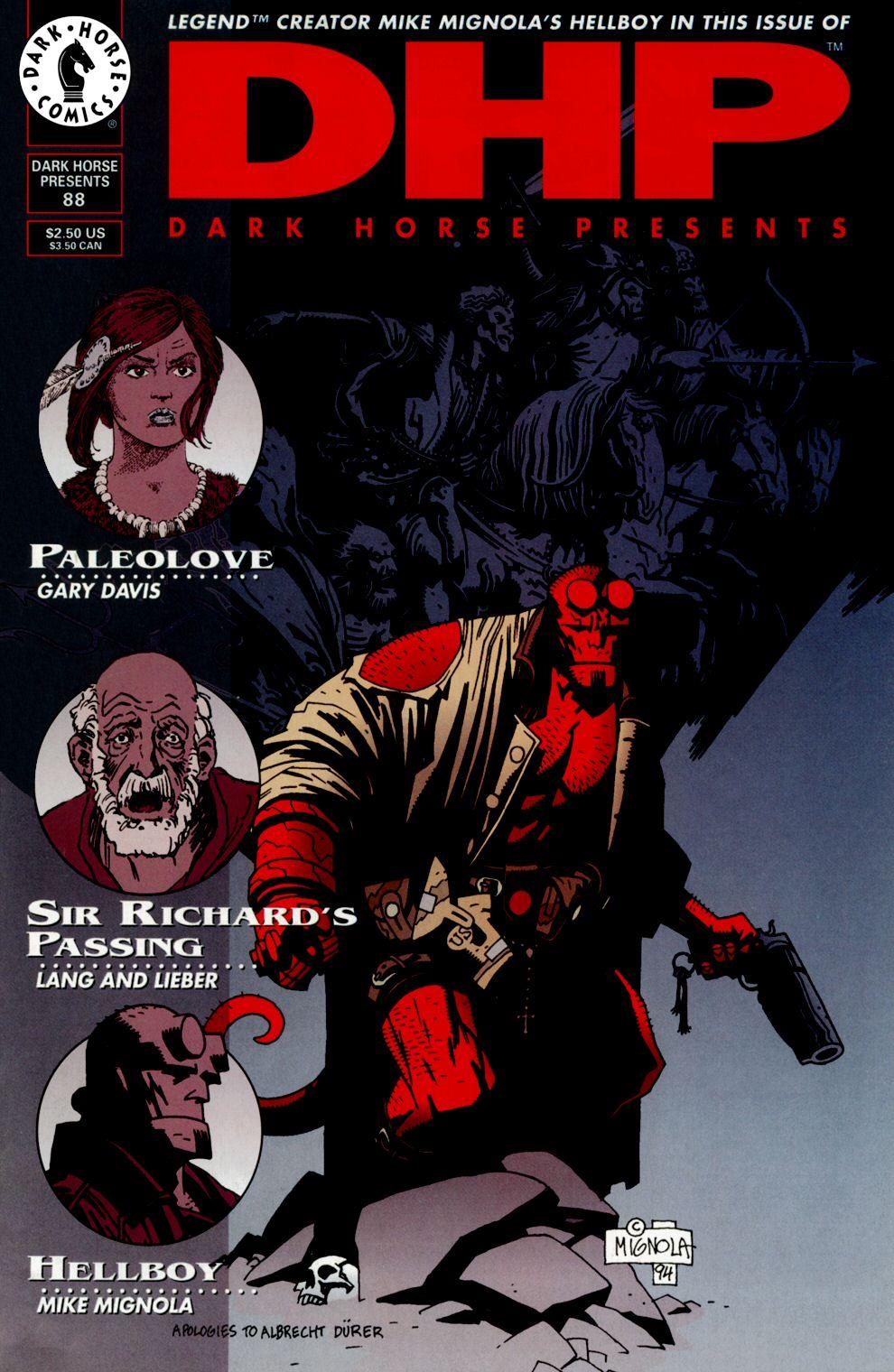 Dark Horse Presents (1986) issue 88 - Page 1
