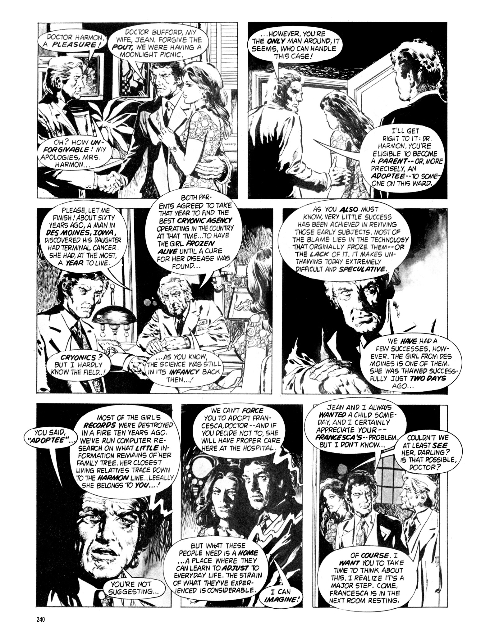 Read online Eerie Archives comic -  Issue # TPB 18 - 237
