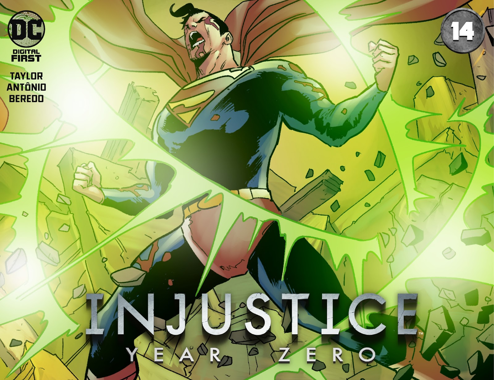 Injustice: Year Zero issue 14 - Page 1