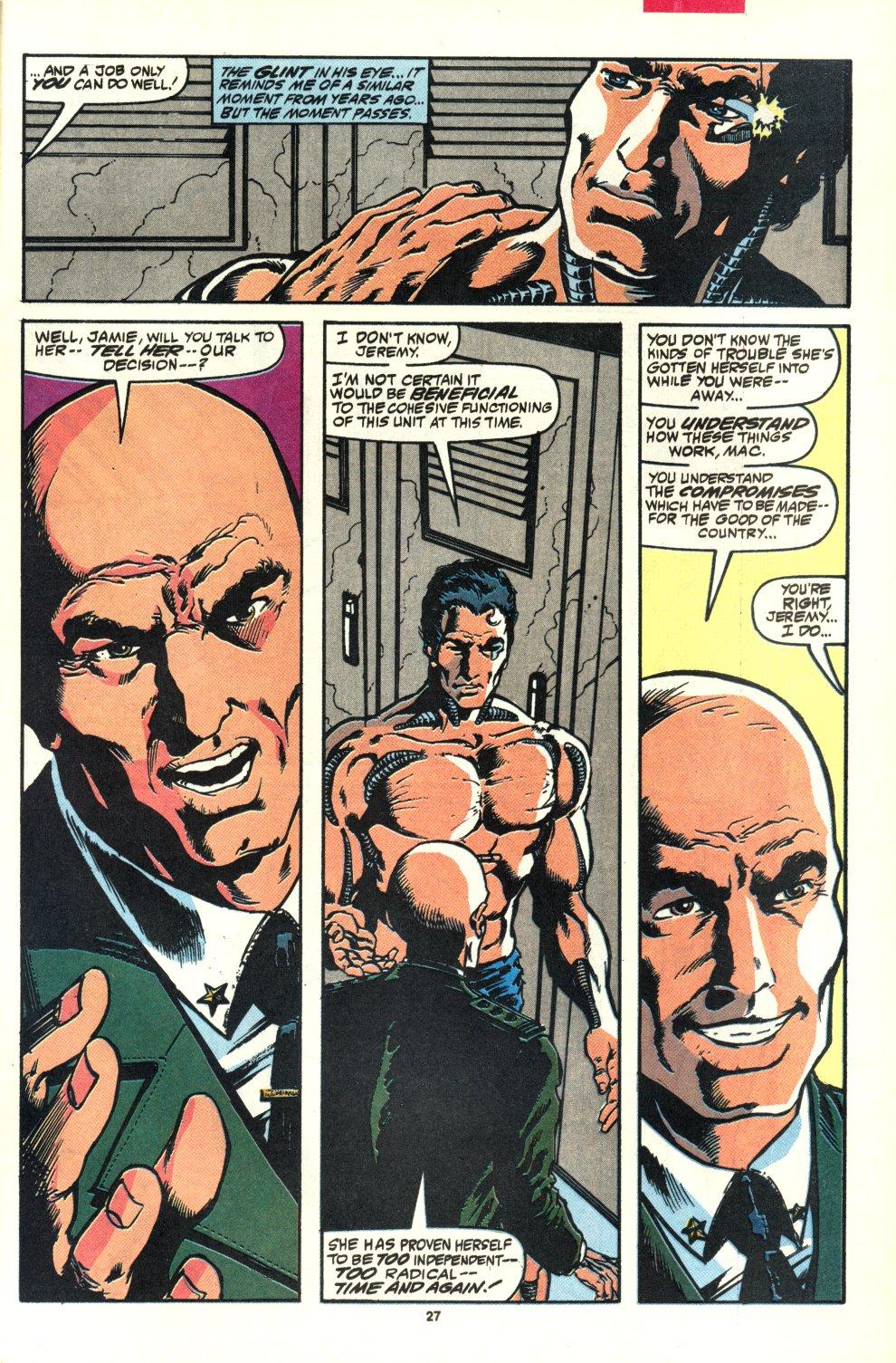 Read online Alpha Flight (1983) comic -  Issue #92 - 21