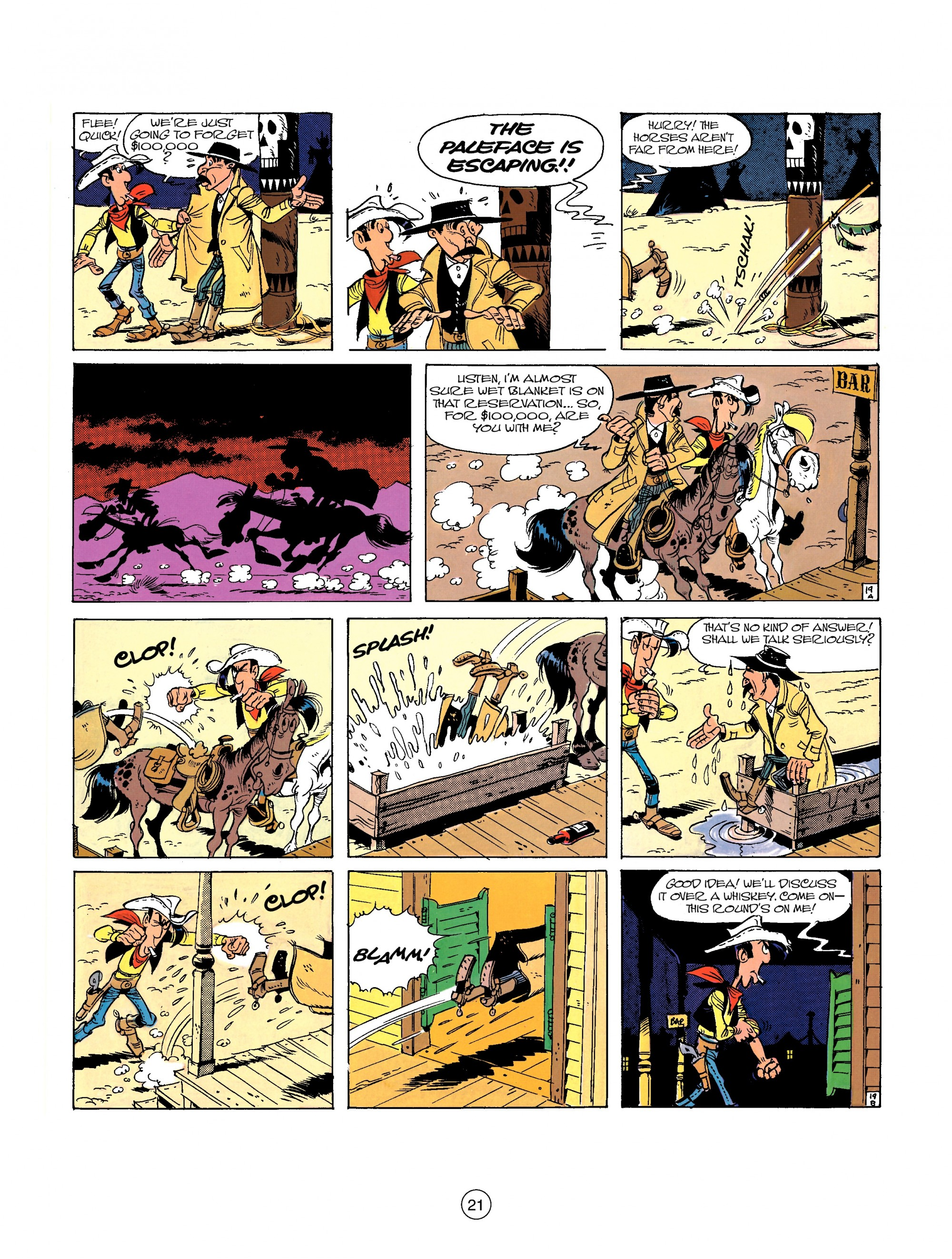 Read online A Lucky Luke Adventure comic -  Issue #26 - 21