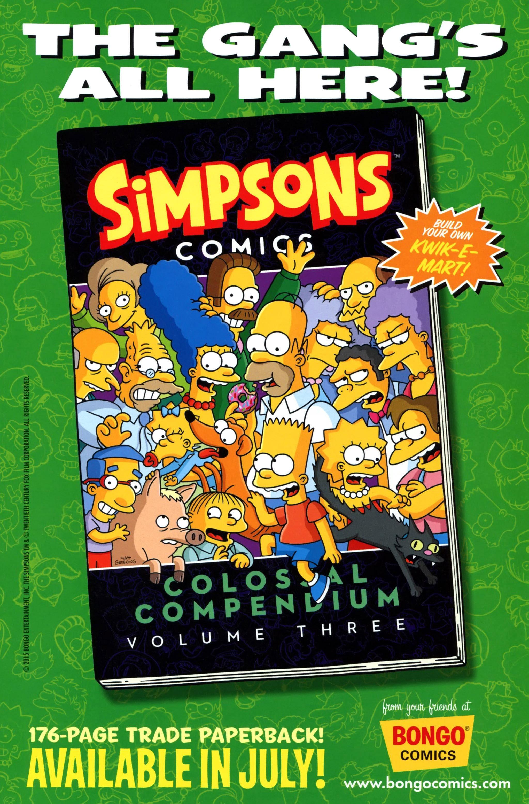 Read online Simpsons Comics comic -  Issue #223 - 31