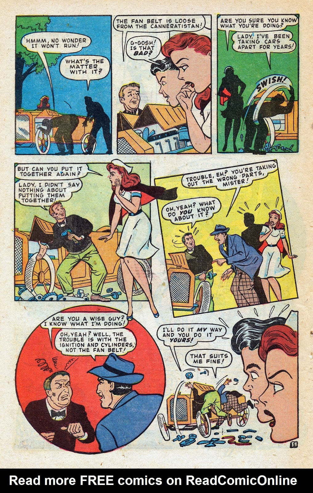 Read online Nellie The Nurse (1945) comic -  Issue #14 - 46