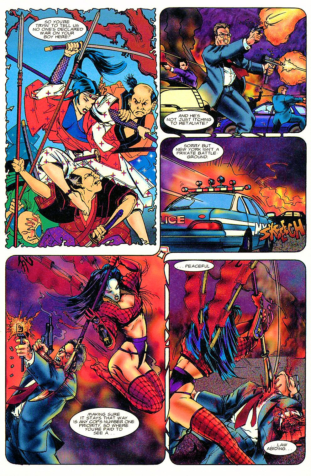 Read online Shi: The Way of the Warrior comic -  Issue #3 - 13