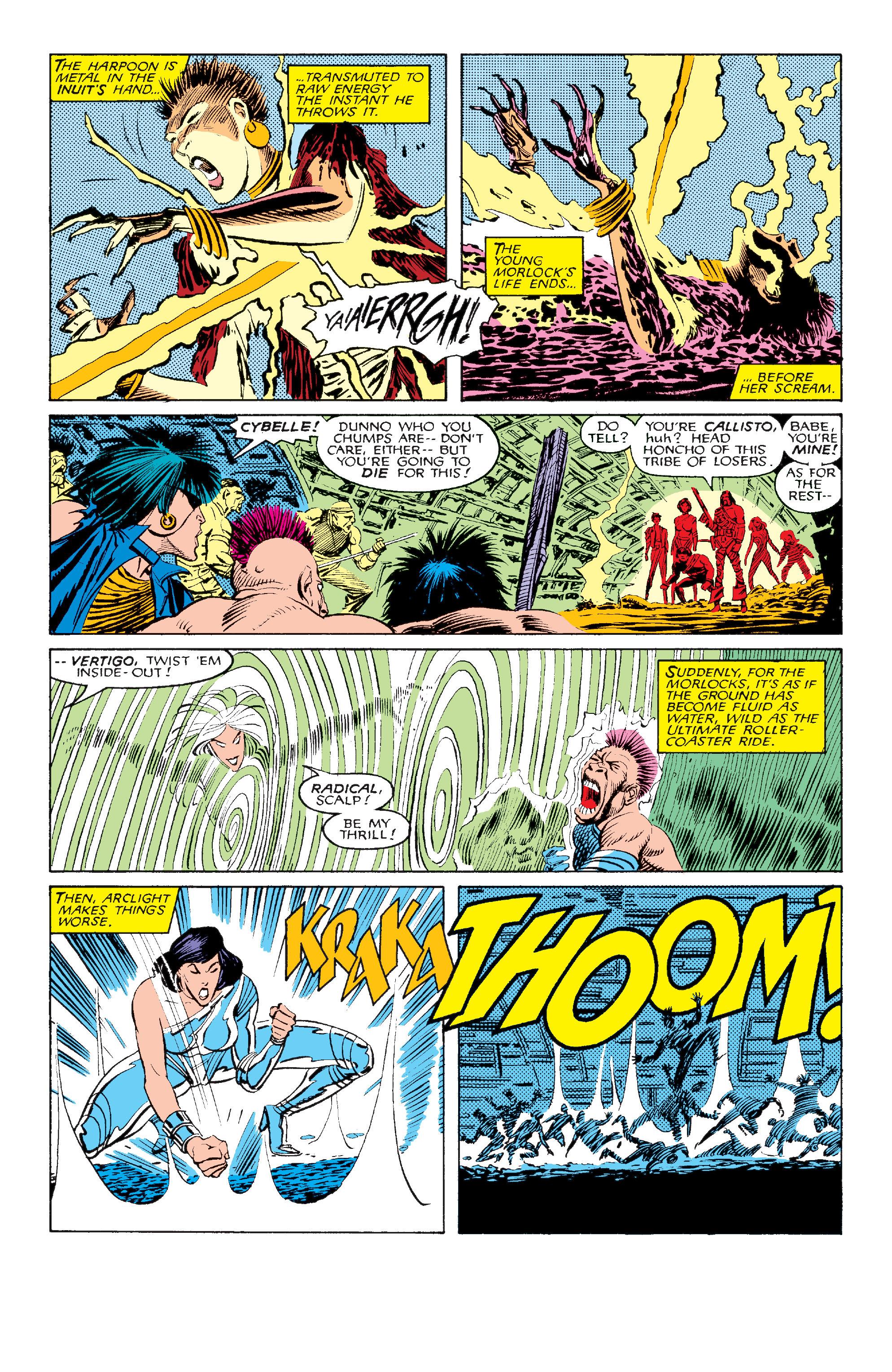 Read online Uncanny X-Men (1963) comic -  Issue #211 - 6