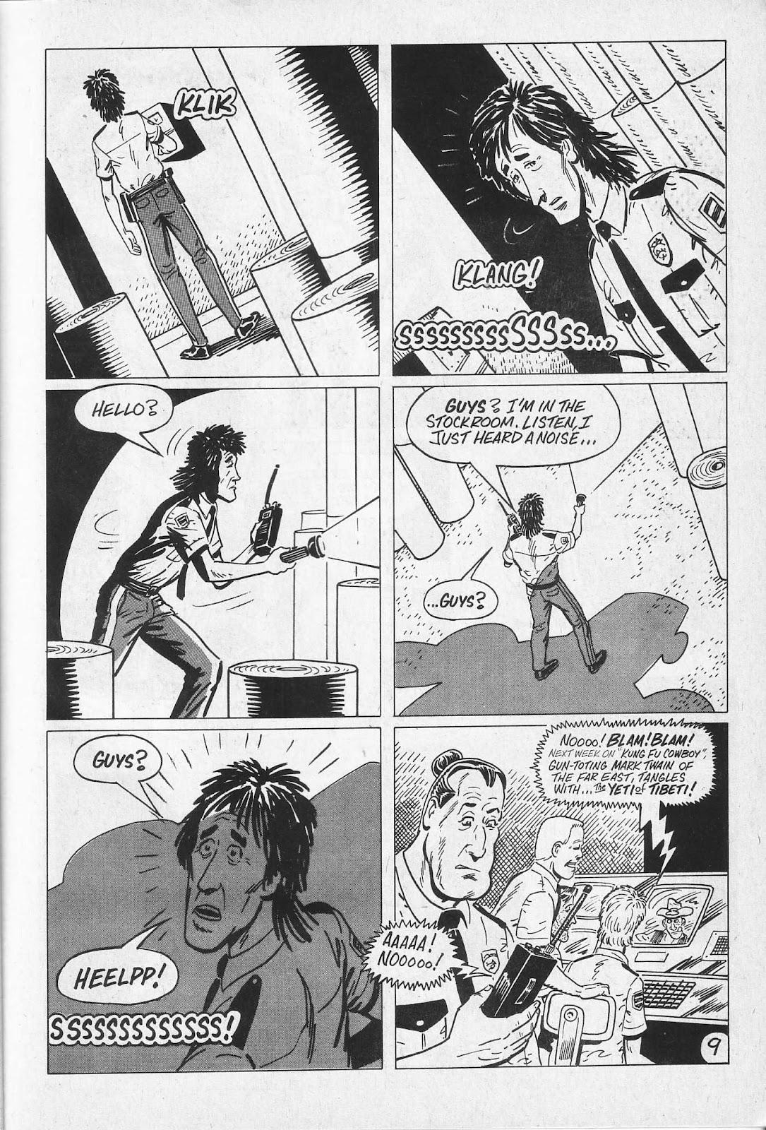 Read online Paul the Samurai (1991) comic -  Issue # TPB - 15