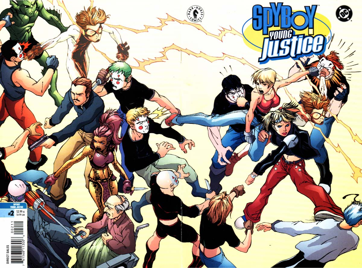 Read online SpyBoy/Young Justice comic -  Issue #2 - 1