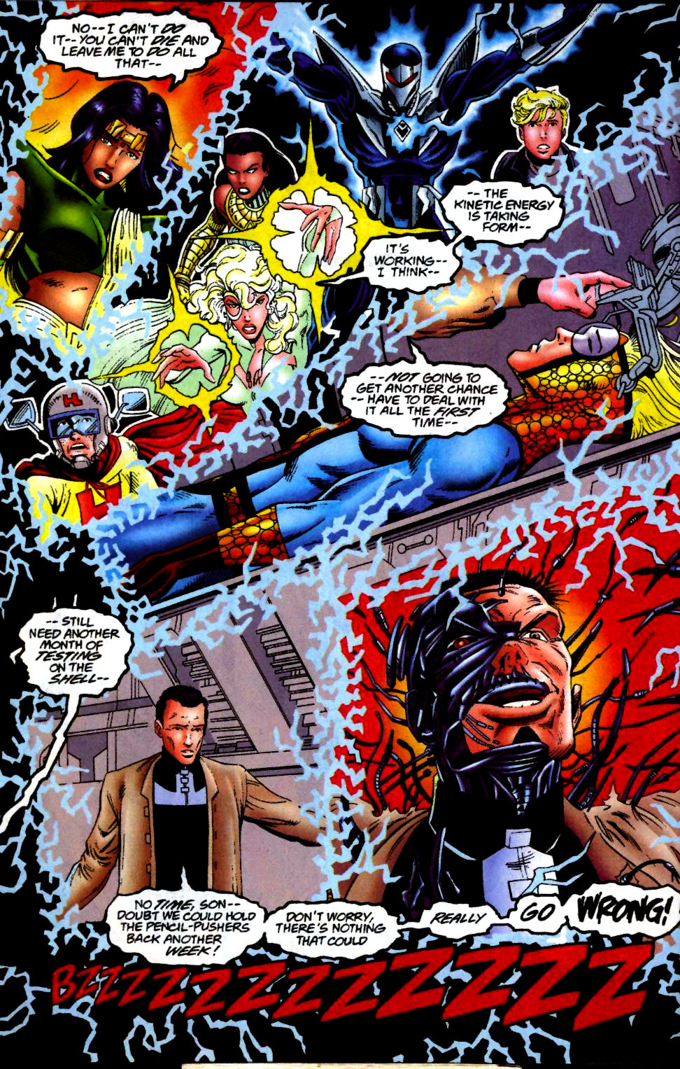 The New Warriors Issue #65 #69 - English 10