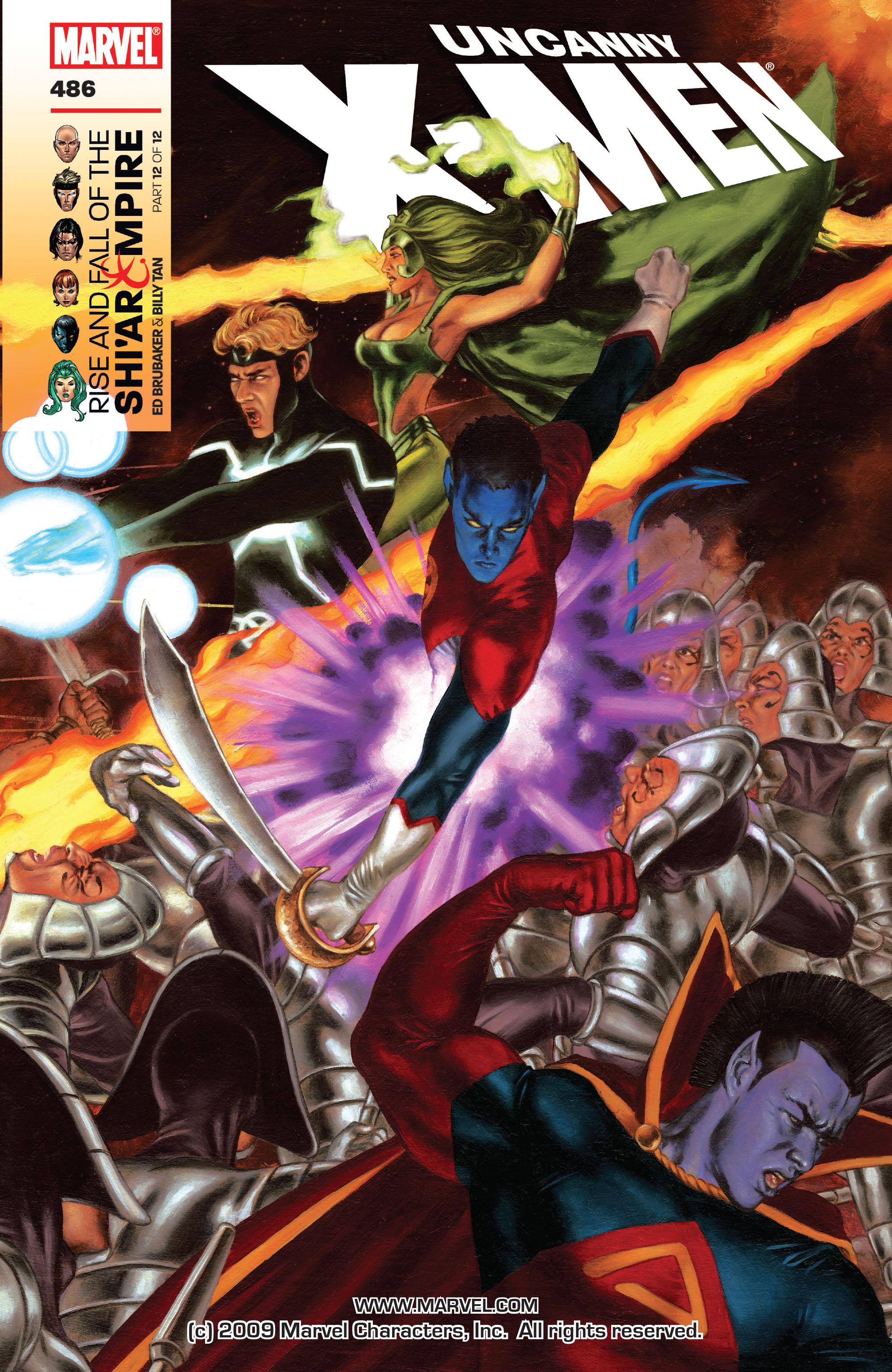 Uncanny X-Men (1963) 486 Page 1