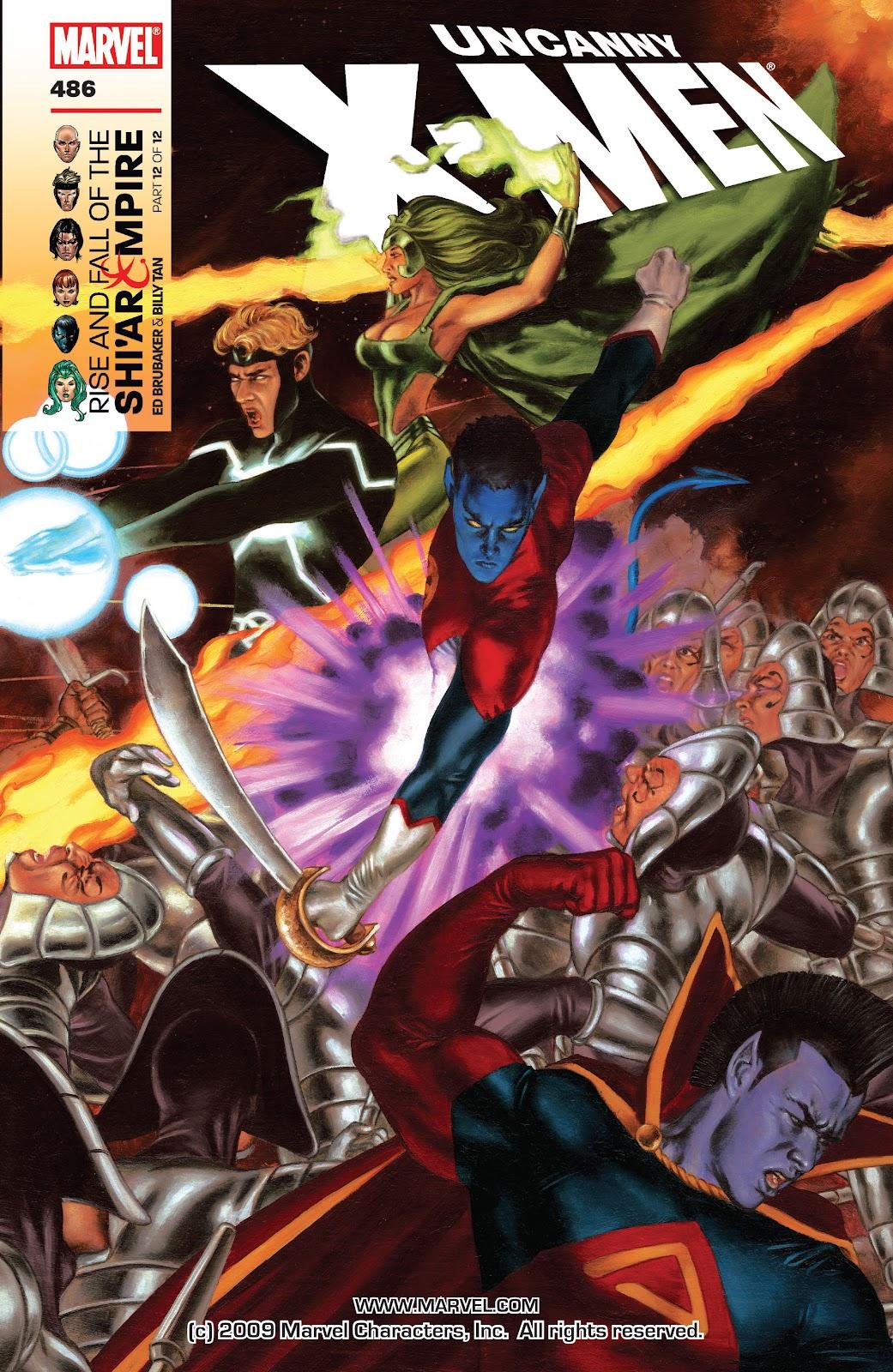 Uncanny X-Men (1963) issue 486 - Page 1