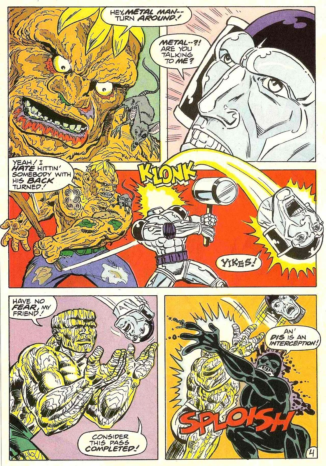 Read online Zen Intergalactic Ninja (1992) comic -  Issue #3 - 5