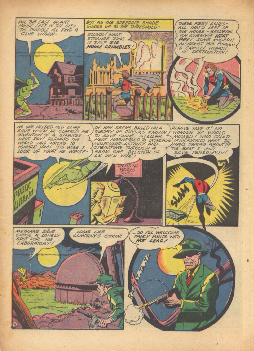 Read online Sensation (Mystery) Comics comic -  Issue #24 - 34