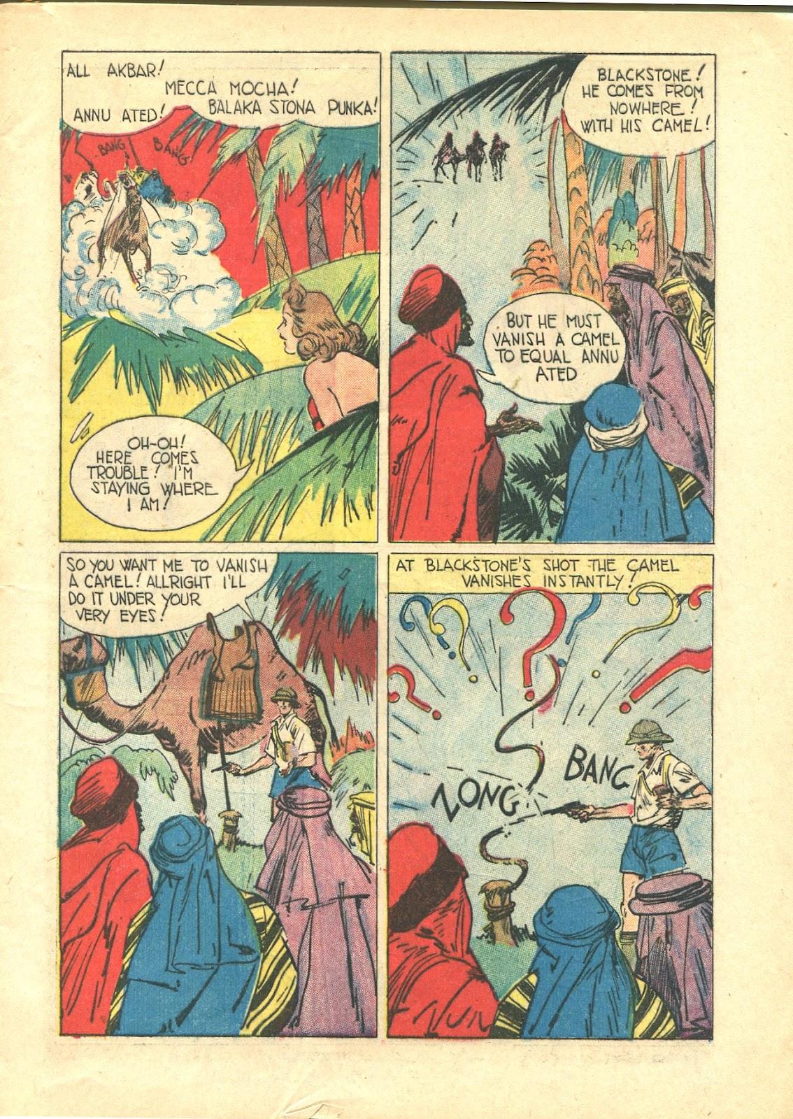Read online Super-Magician Comics comic -  Issue #21 - 9