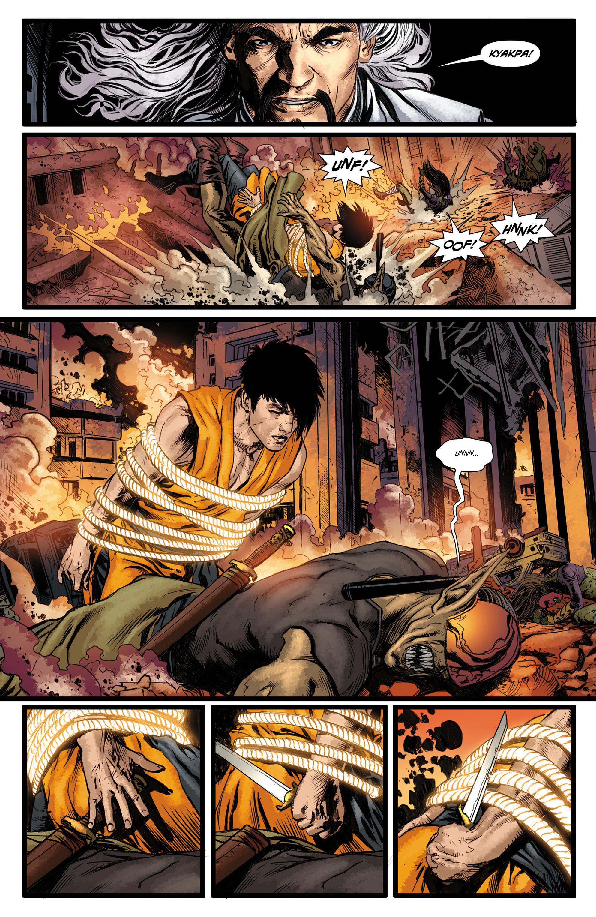 Read online King Tiger comic -  Issue #3 - 7