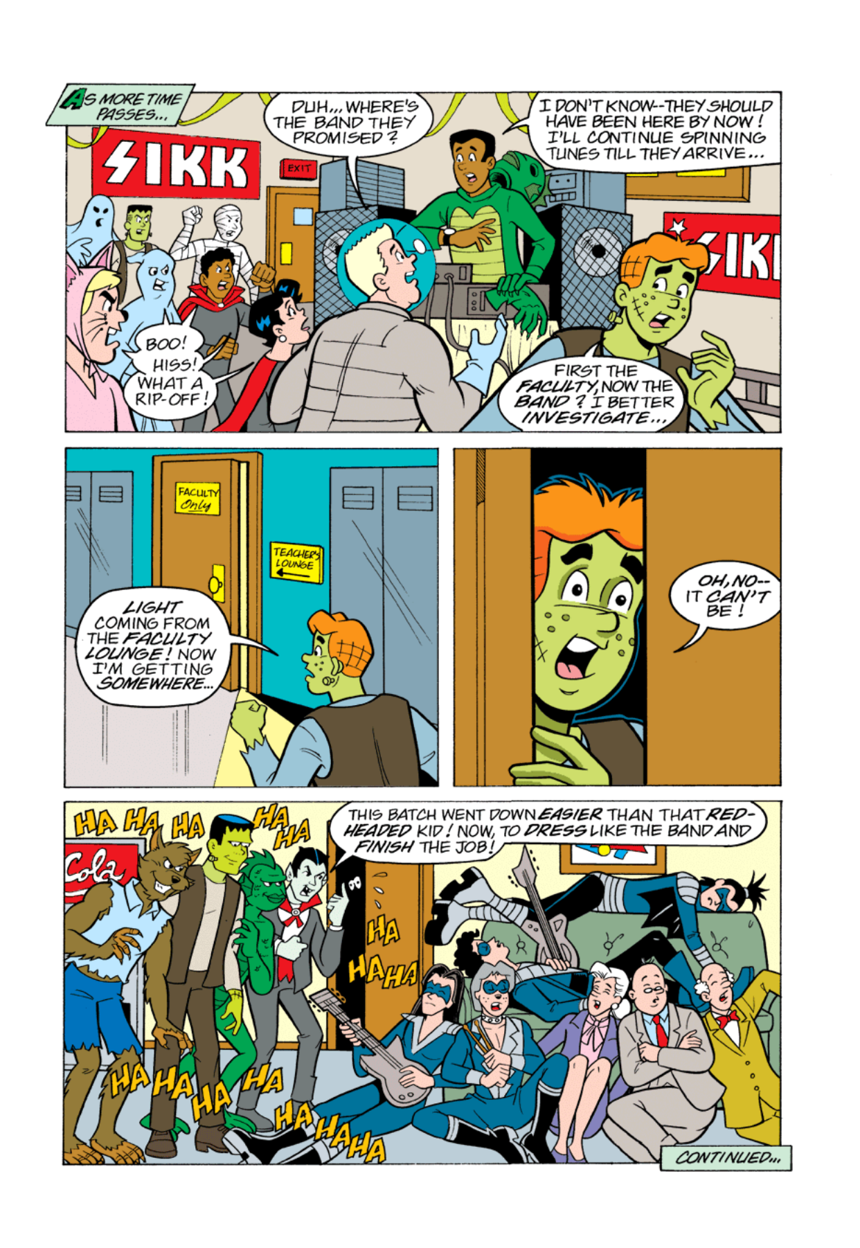Read online Archie's Weird Mysteries comic -  Issue #1 - 17