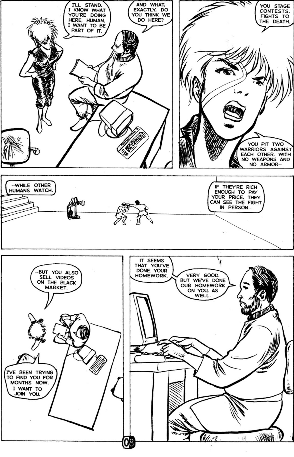 Robotech MechAngel issue 1 - Page 12