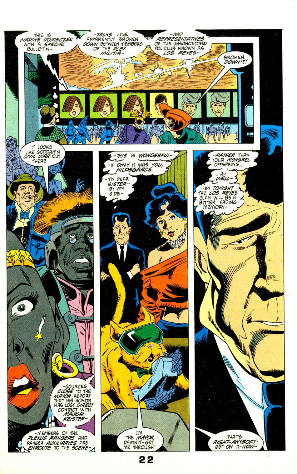 Read online American Flagg! comic -  Issue #29 - 25