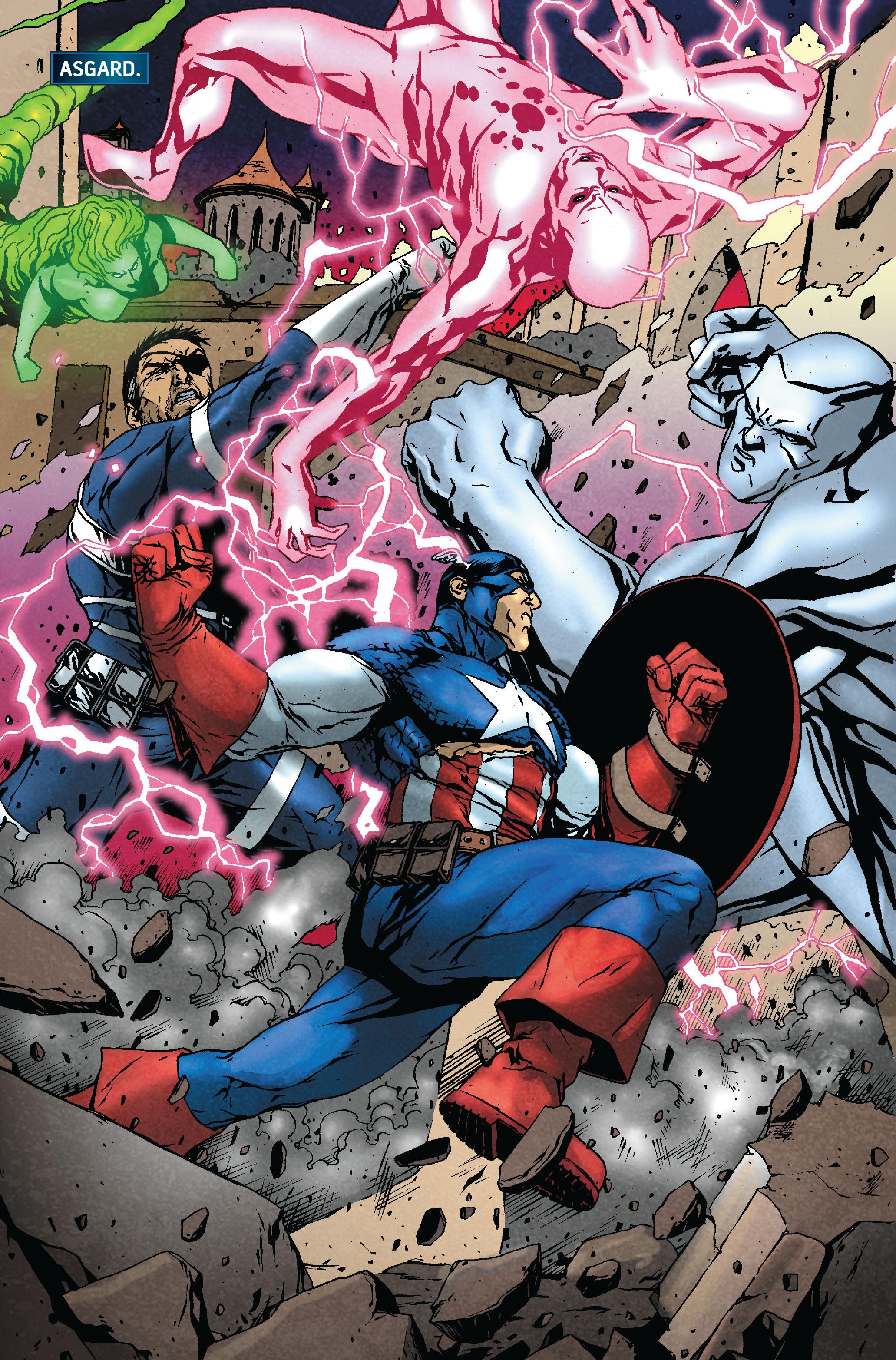 Read online Siege: Secret Warriors comic -  Issue # Full - 14