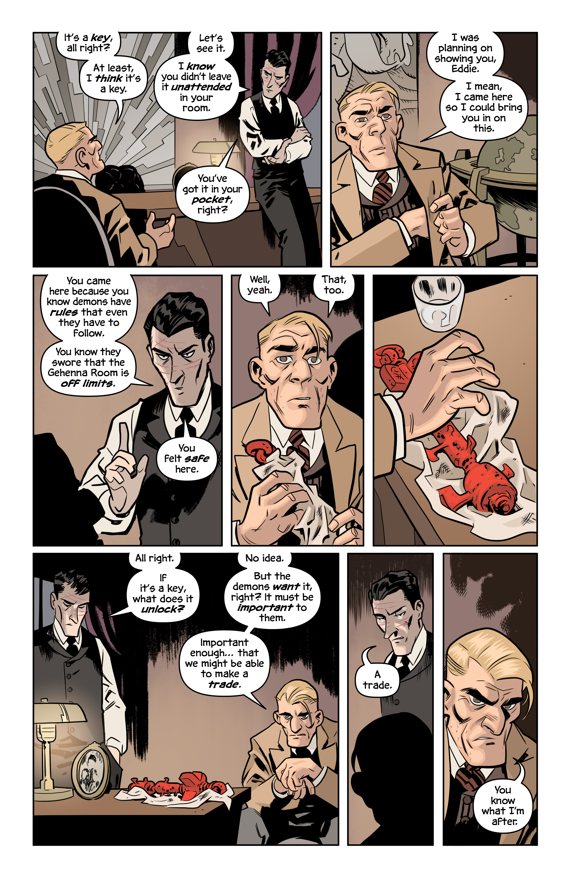 Read online The Damned comic -  Issue #2 - 22