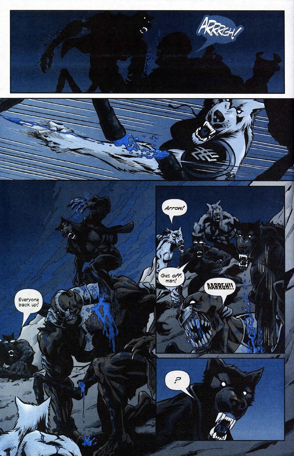 Read online Werewolf the Apocalypse comic -  Issue # Get of Fenris - 34