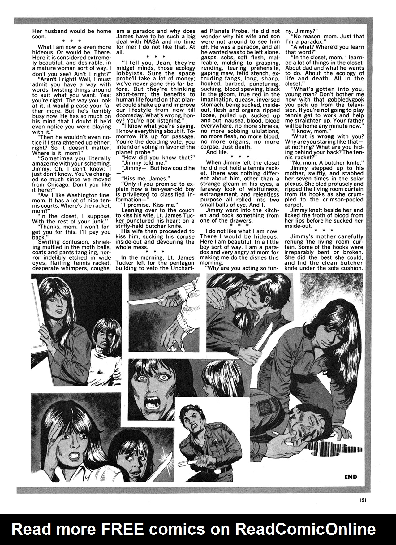Read online Eerie Archives comic -  Issue # TPB 9 - 192